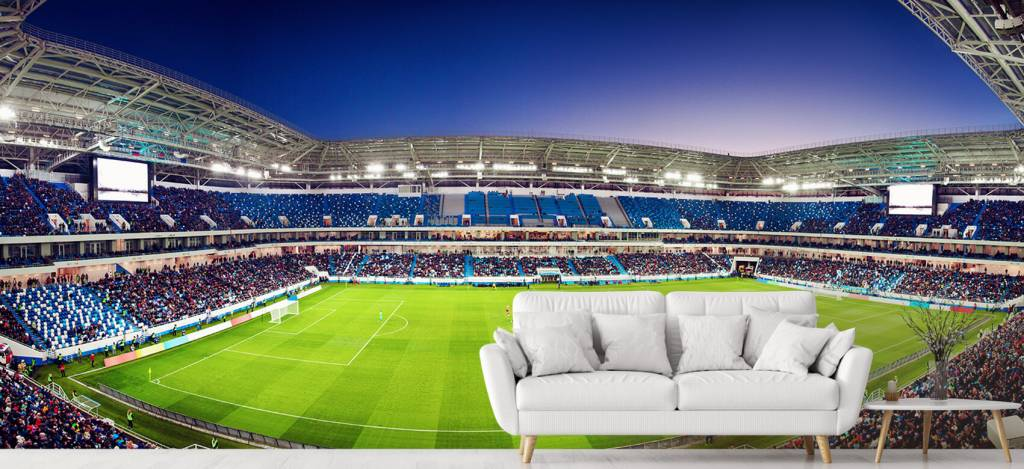 Stadions - Voetbalstadion panorama - Tienerkamer 1
