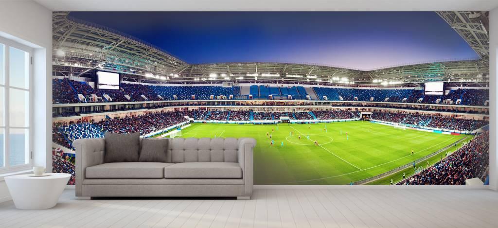 Stadions - Voetbalstadion panorama - Tienerkamer 2