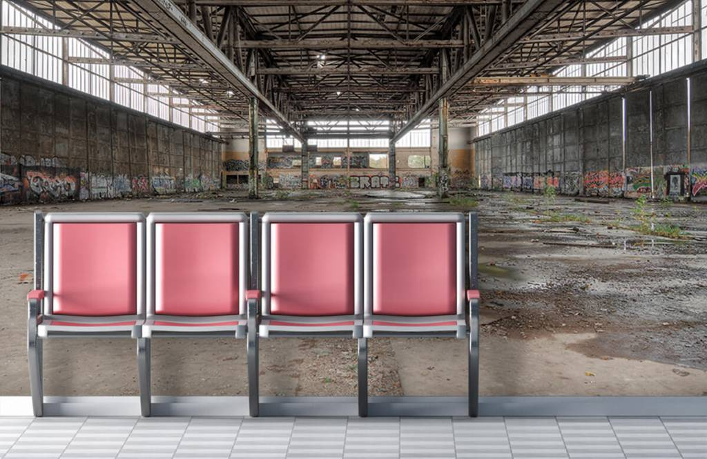 Gebouwen - Voormalig Duits vliegveld - Tienerkamer 2