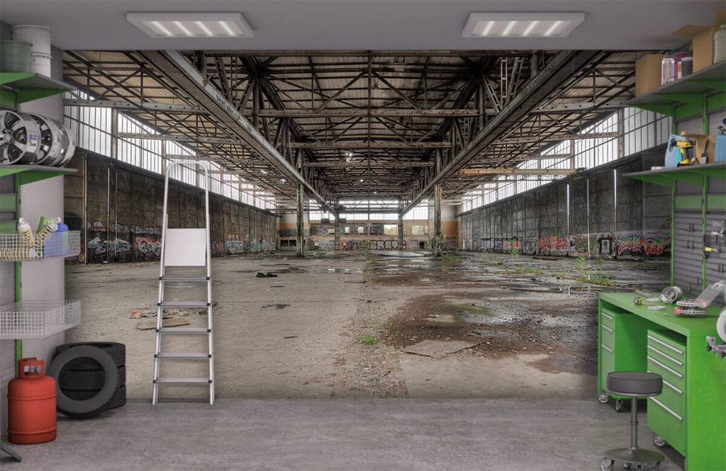 Gebouwen - Voormalig Duits vliegveld - Tienerkamer 6