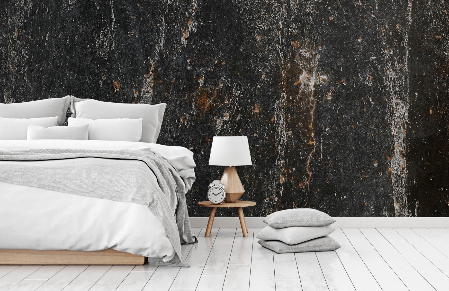 Zwart Wit behang - Steen - Wallexclusive - Woonkamer 14