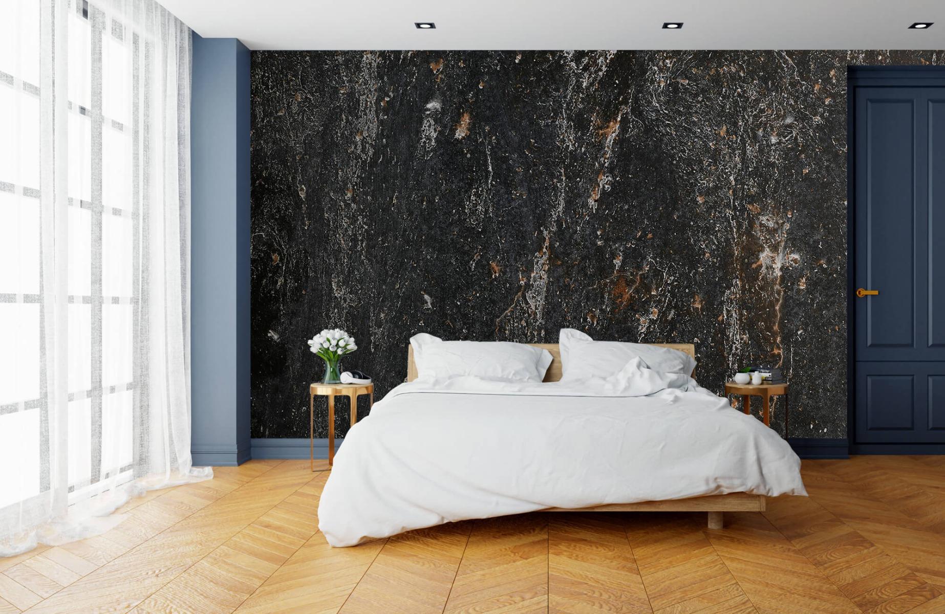 Zwart Wit behang - Steen - Wallexclusive - Woonkamer 15