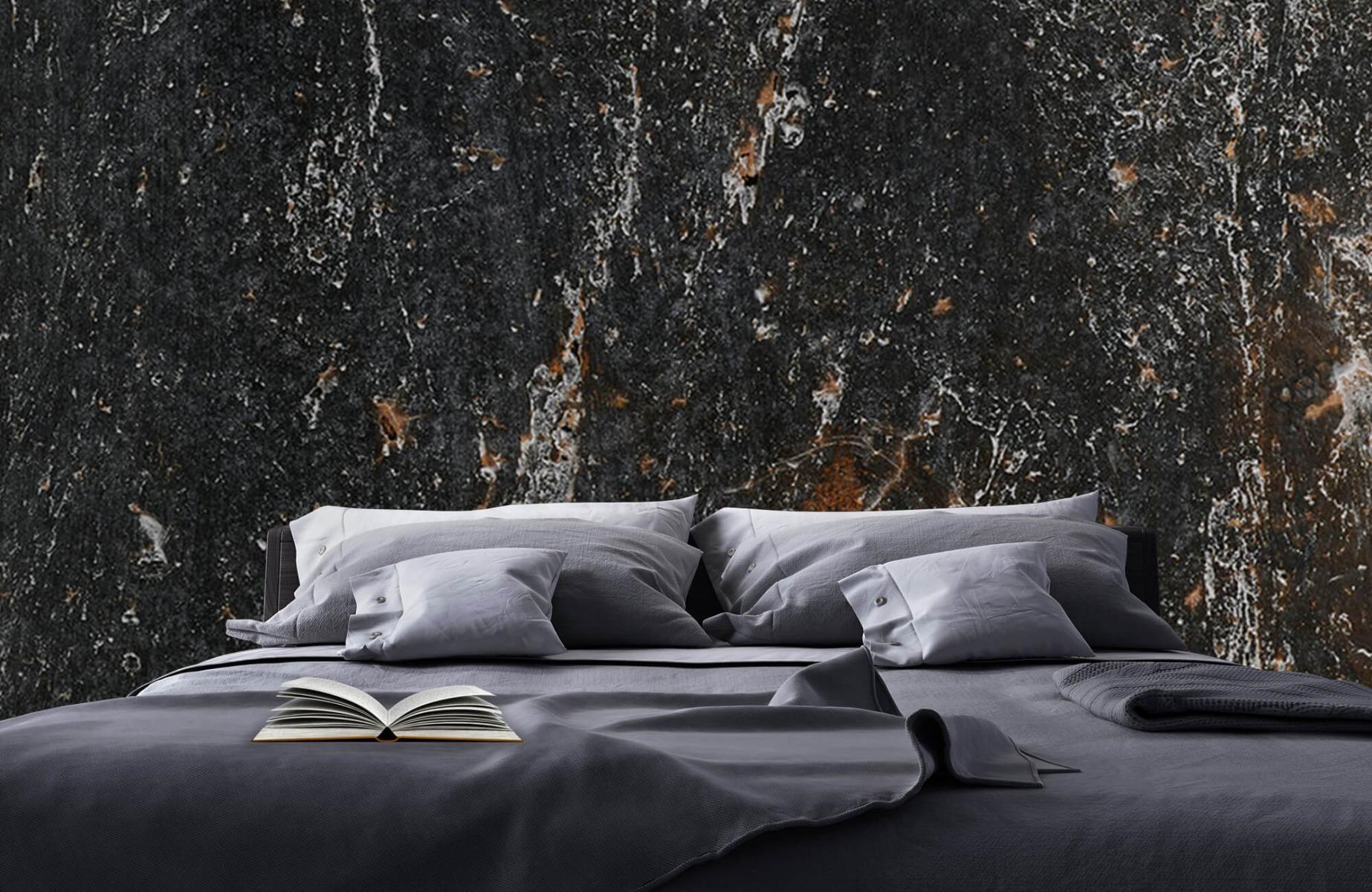 Zwart Wit behang - Steen - Wallexclusive - Woonkamer 17