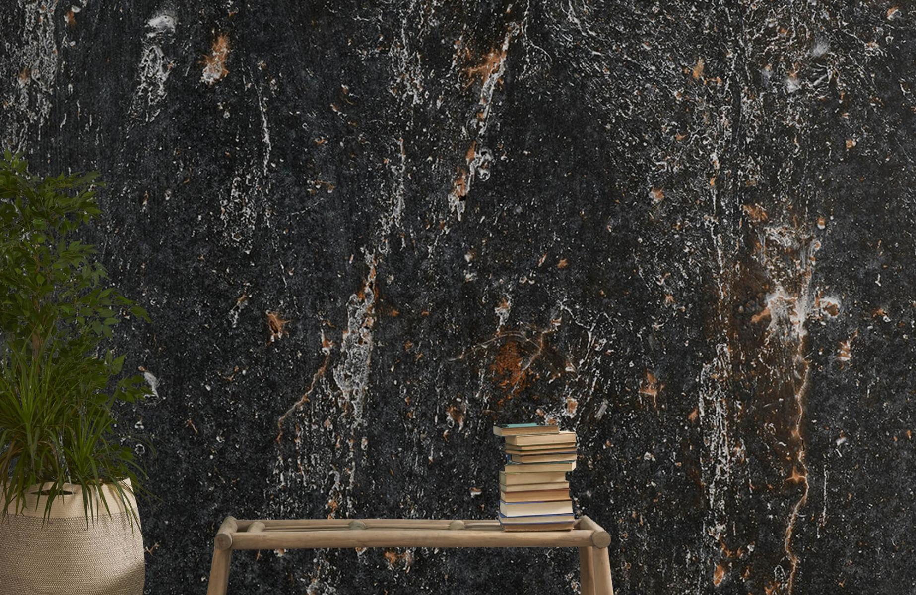 Zwart Wit behang - Steen - Wallexclusive - Woonkamer 20