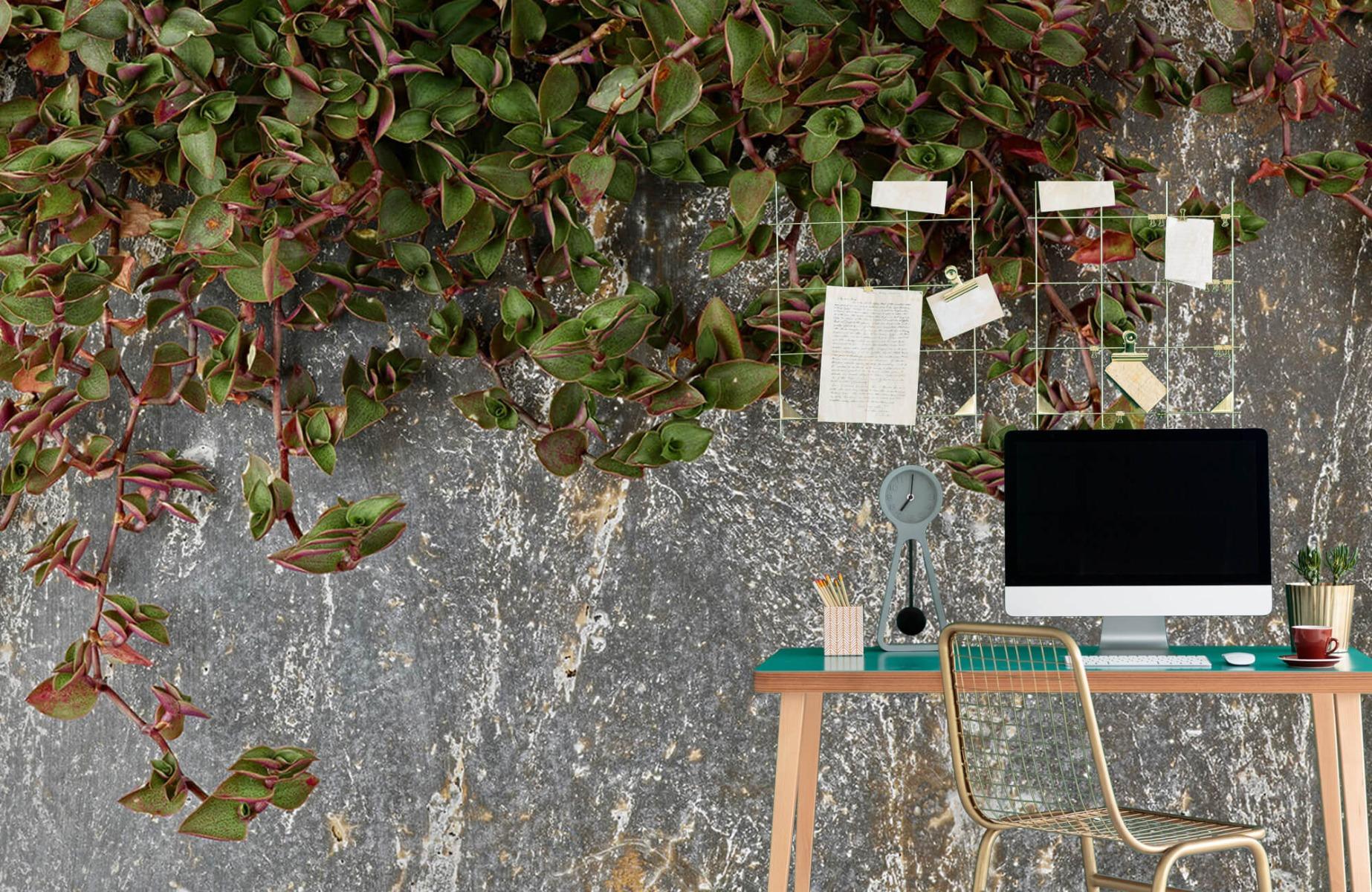Bladeren - Plantenbak - Wallexclusive - Slaapkamer 7