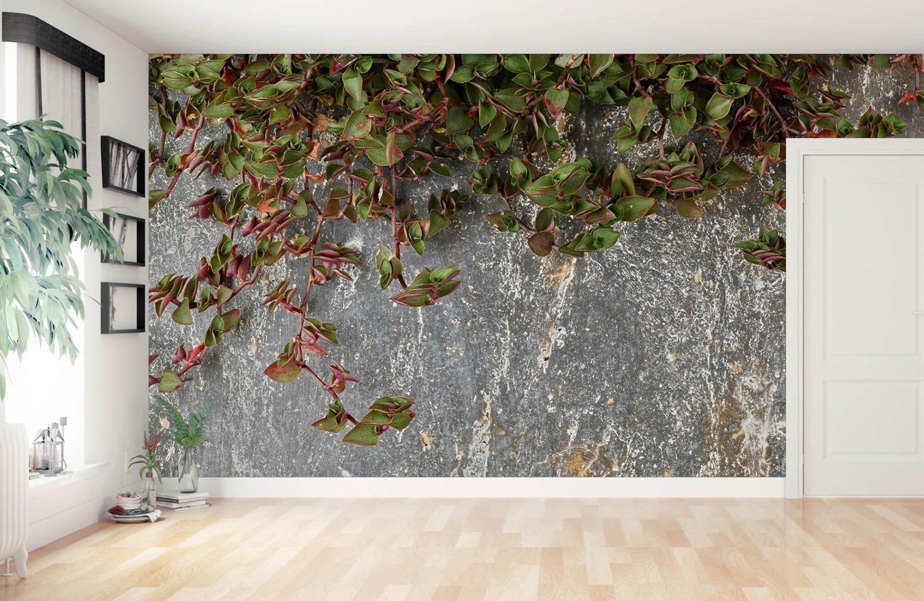 Bladeren - Plantenbak - Wallexclusive - Slaapkamer 11