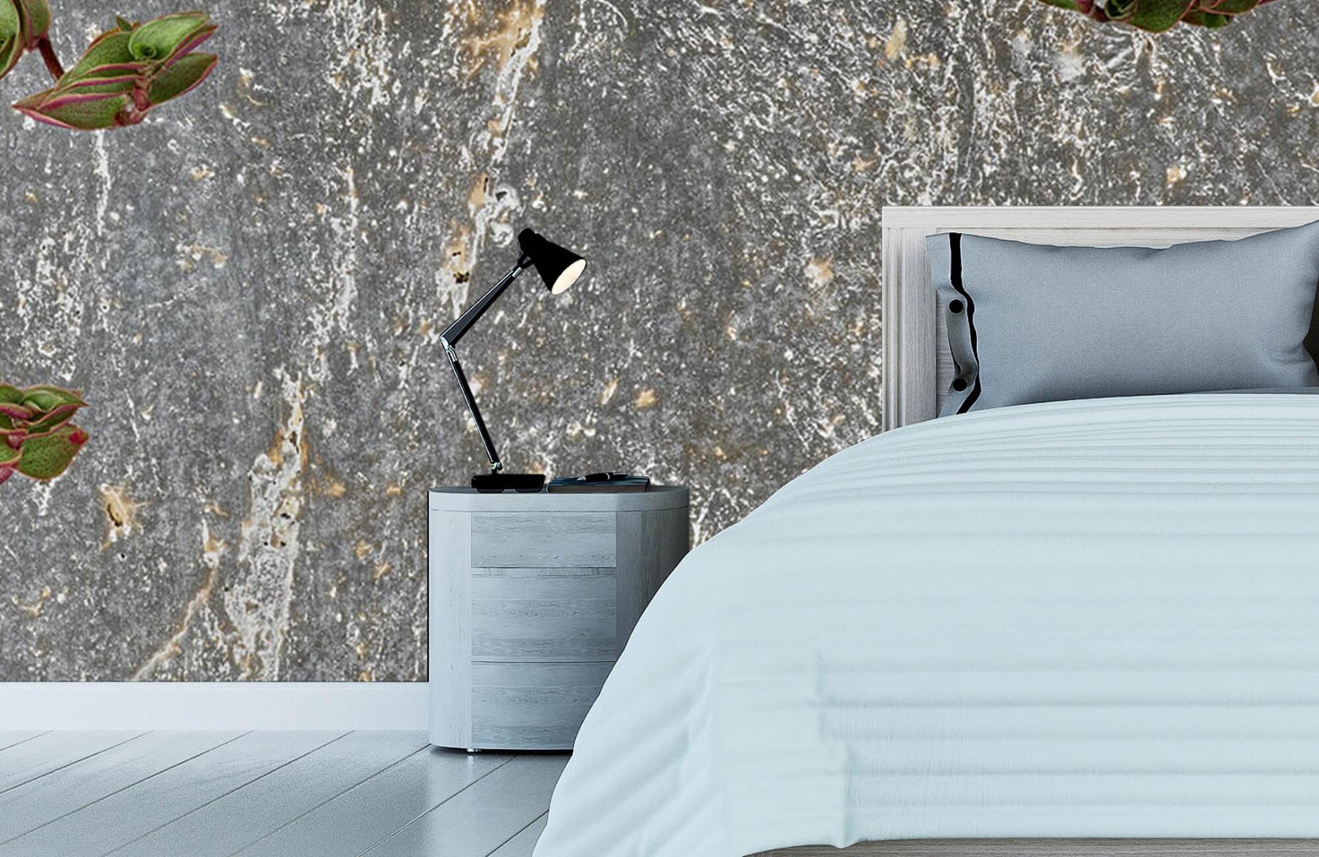 Bladeren - Plantenbak - Wallexclusive - Slaapkamer 12