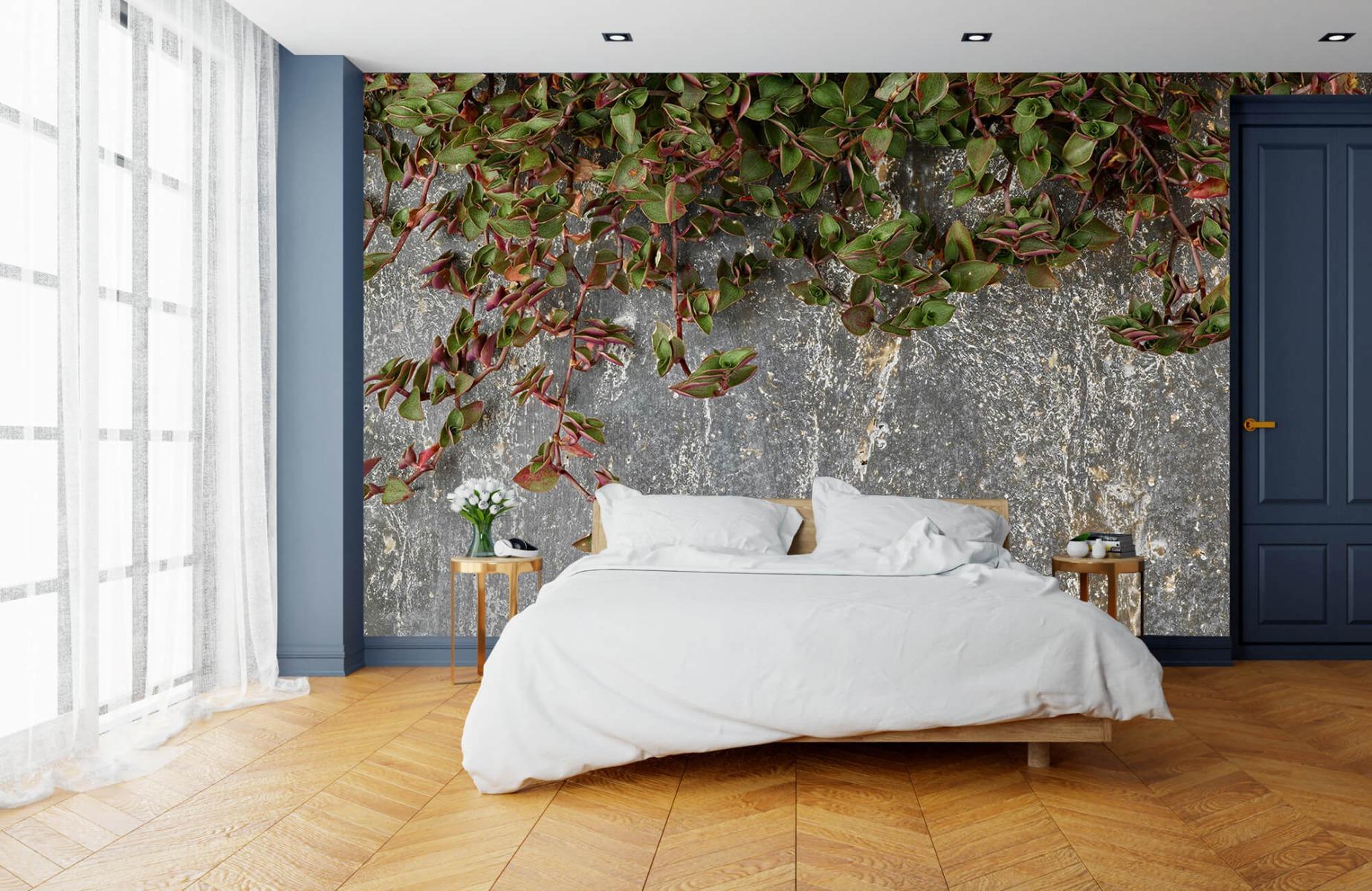 Bladeren - Plantenbak - Wallexclusive - Slaapkamer 15