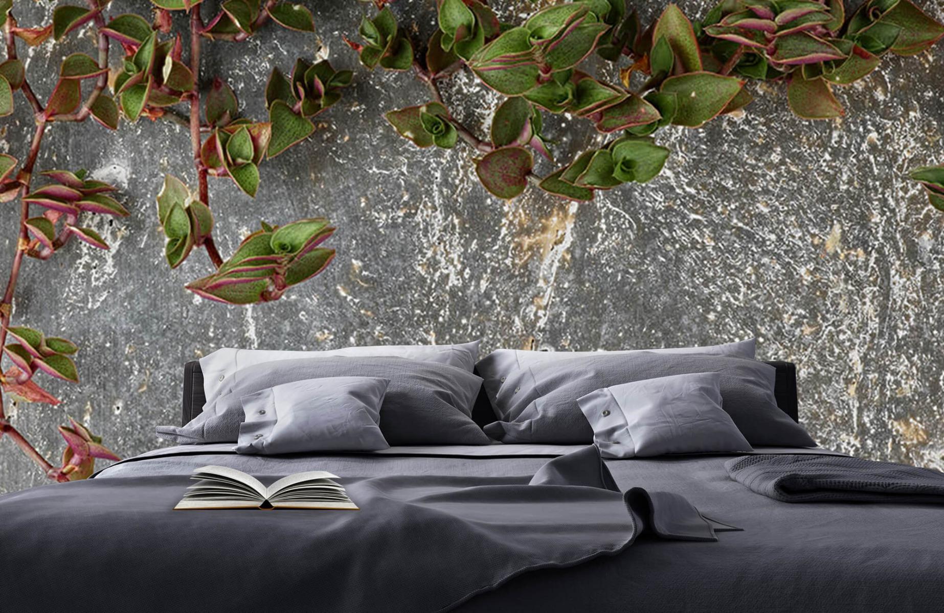 Bladeren - Plantenbak - Wallexclusive - Slaapkamer 17