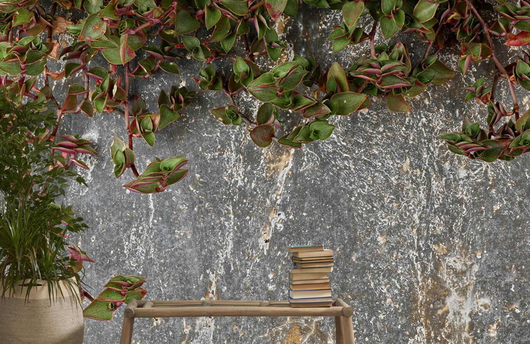 Bladeren - Plantenbak - Wallexclusive - Slaapkamer 20