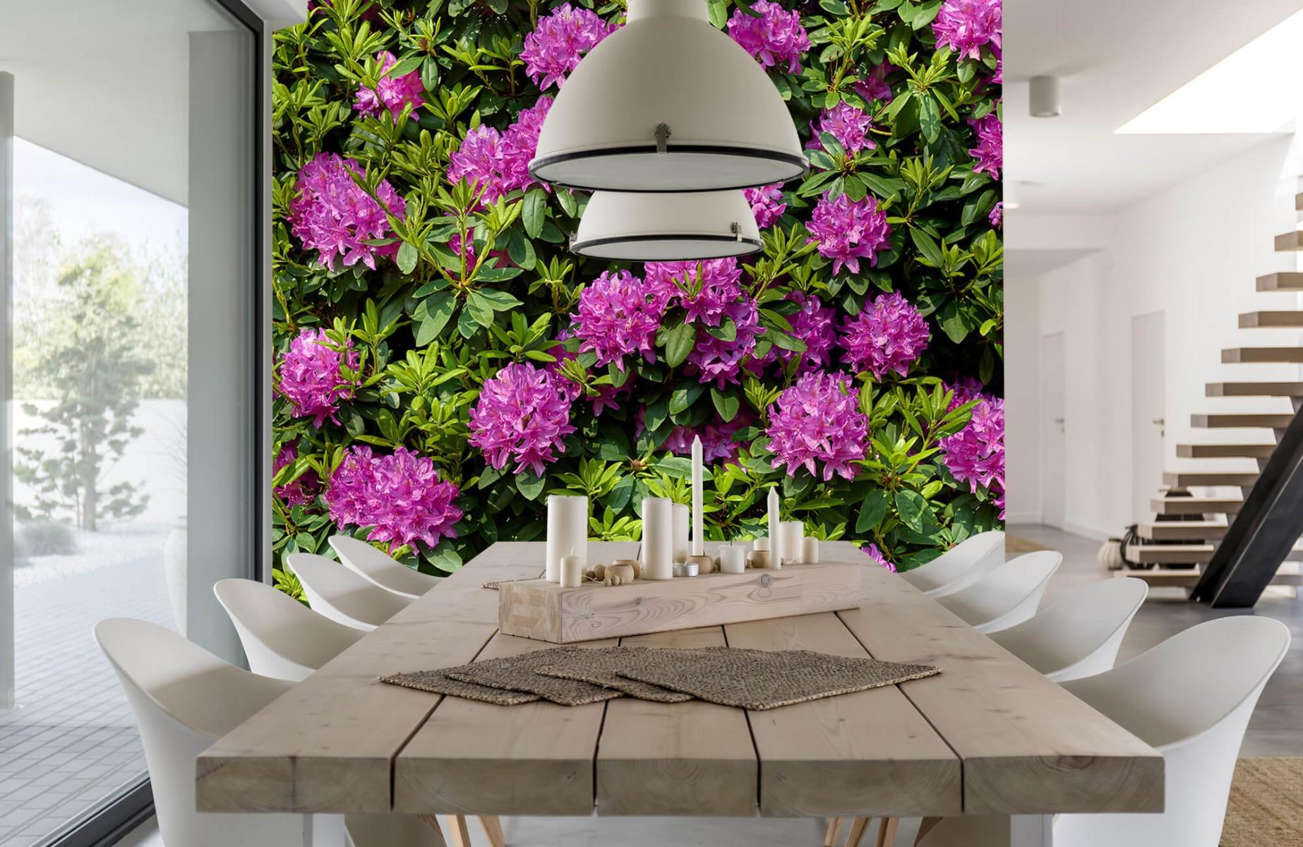 Bloemenvelden - Rododendrons - Wallexclusive - Slaapkamer 16