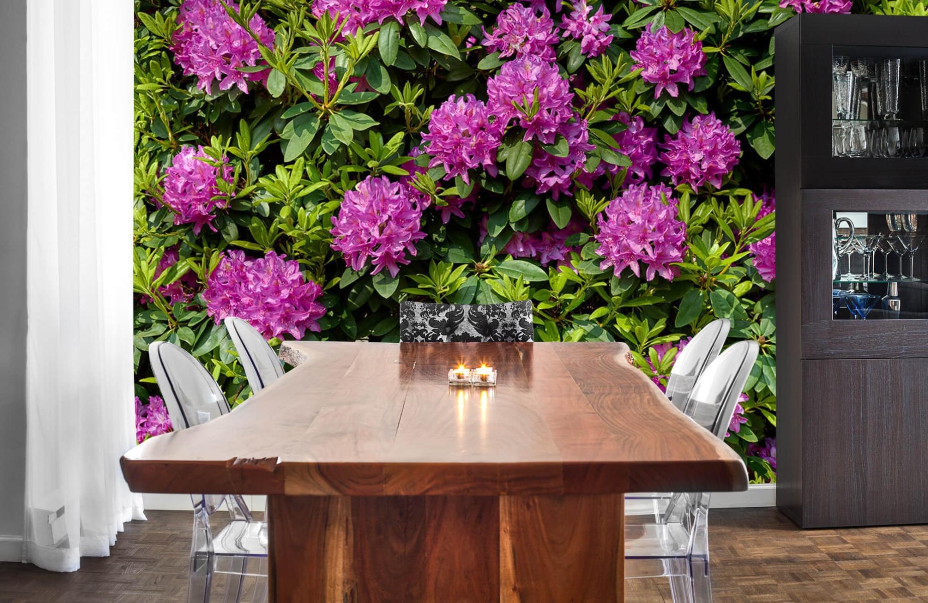 Bloemenvelden - Rododendrons - Wallexclusive - Slaapkamer 2