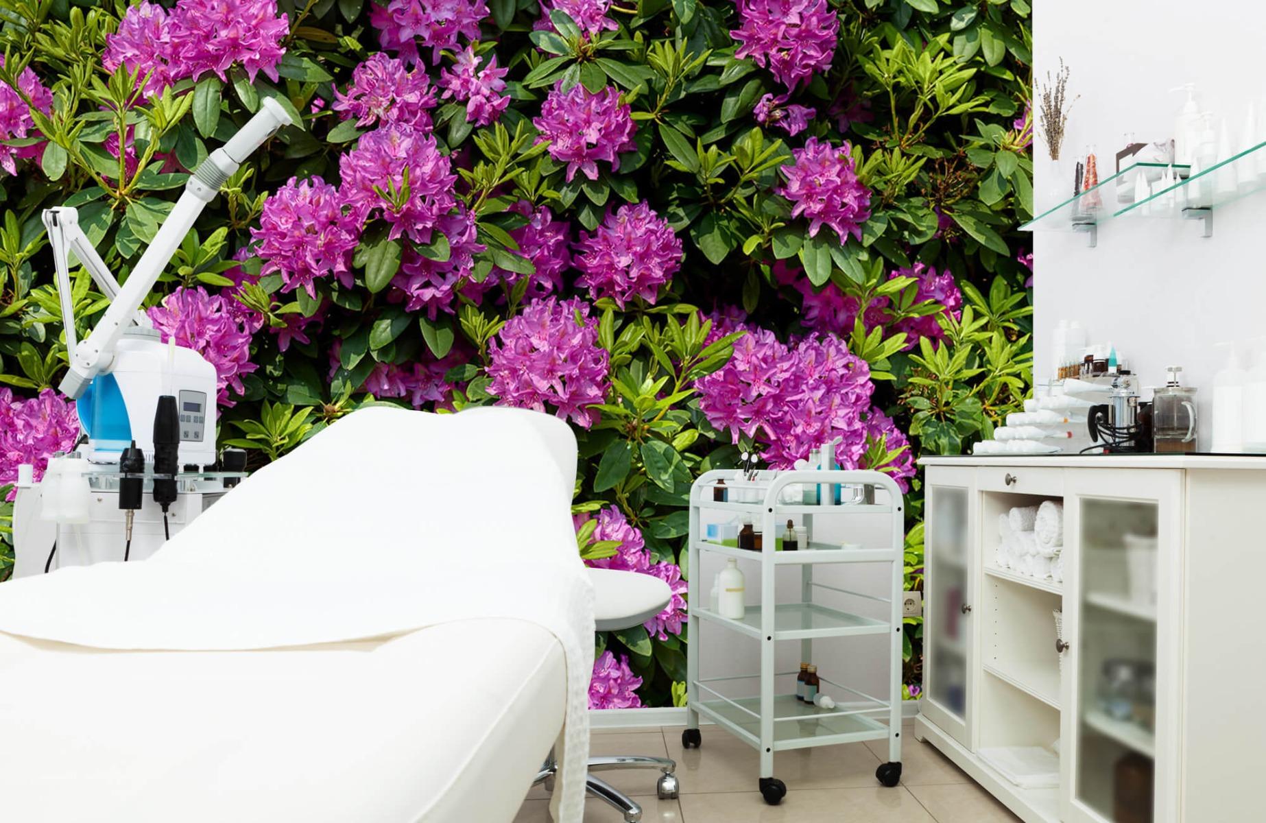 Bloemenvelden - Rododendrons - Wallexclusive - Slaapkamer 4