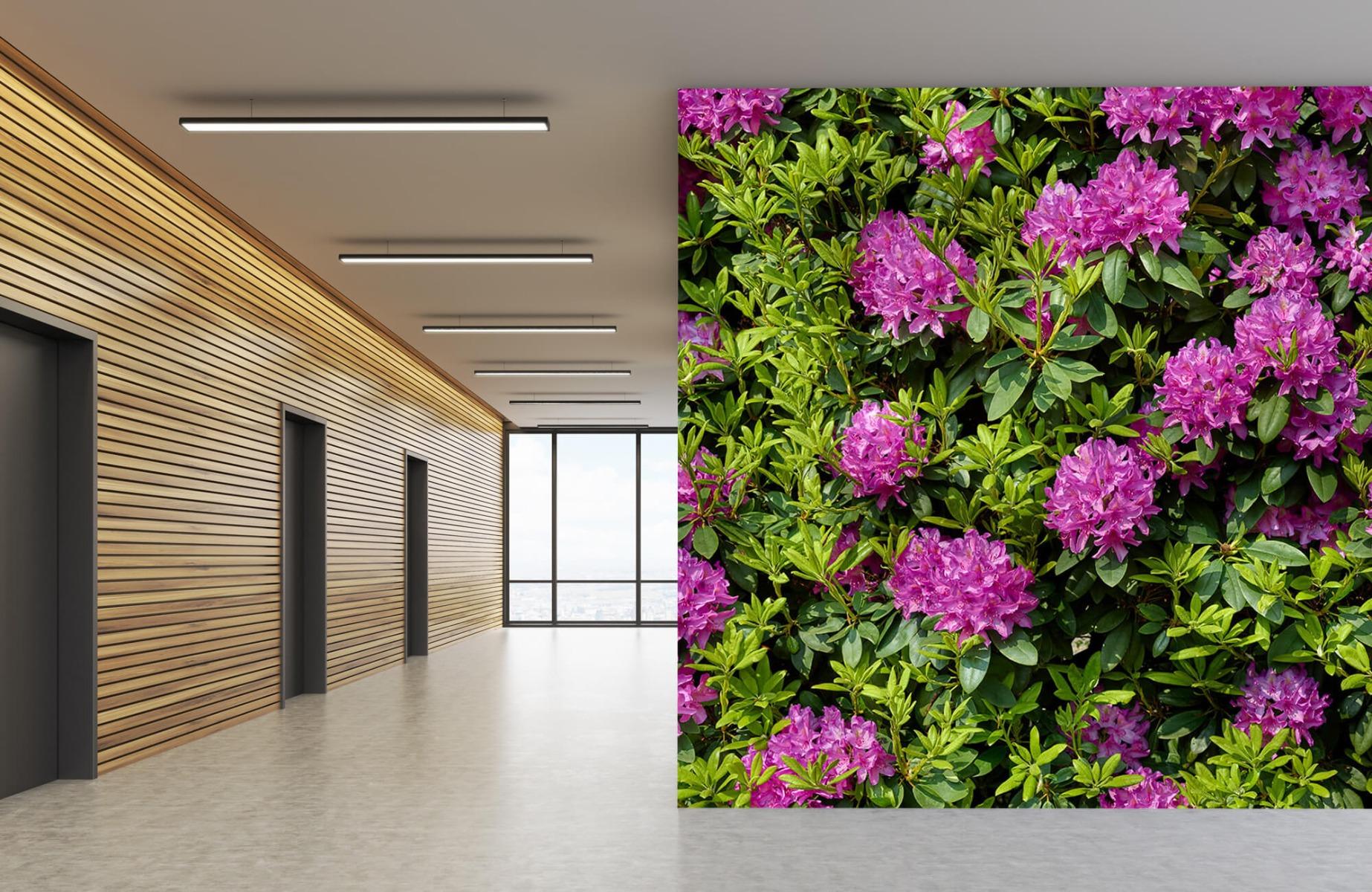 Bloemenvelden - Rododendrons - Wallexclusive - Slaapkamer 6