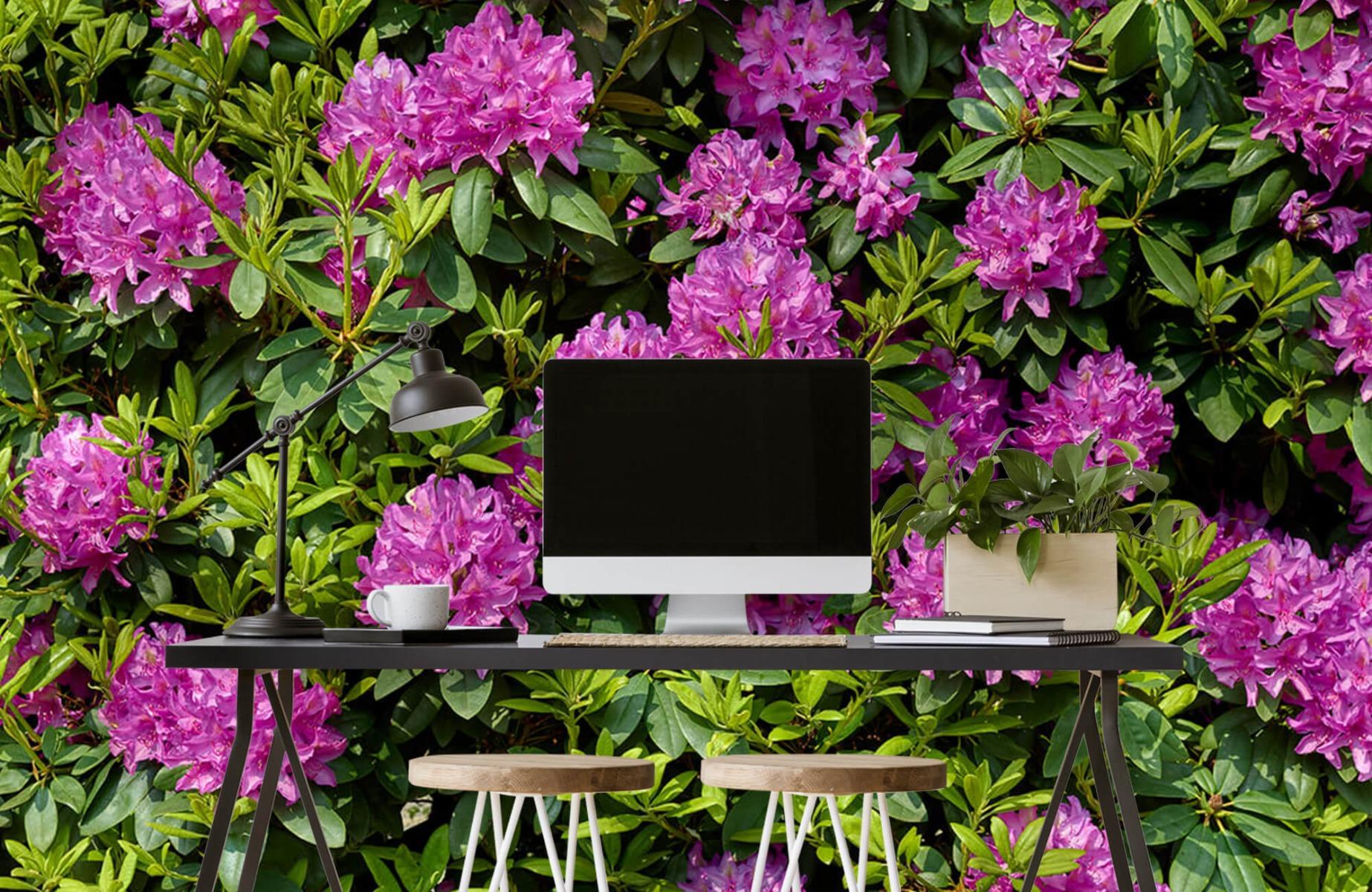 Bloemenvelden - Rododendrons - Wallexclusive - Slaapkamer 7