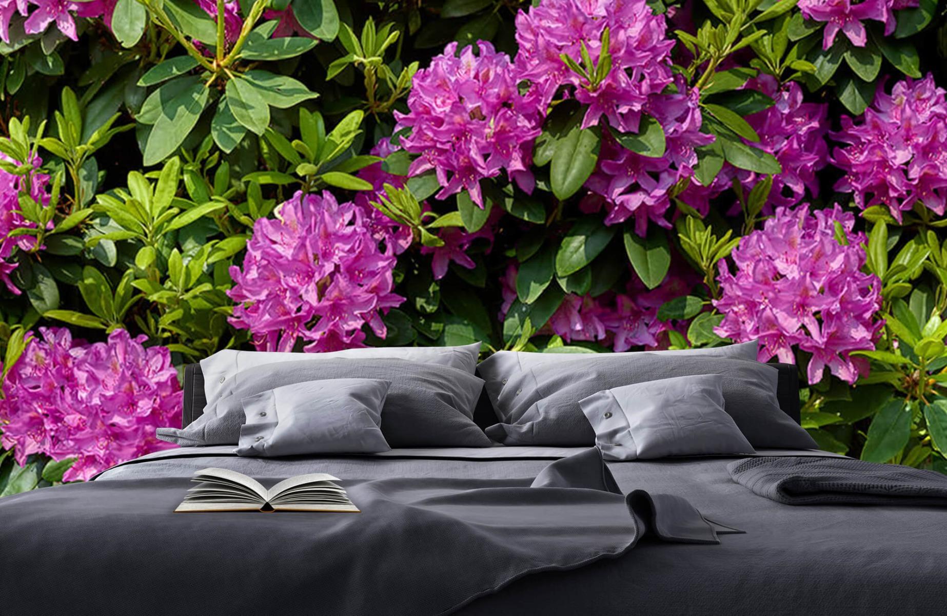 Bloemenvelden - Rododendrons - Wallexclusive - Slaapkamer 18