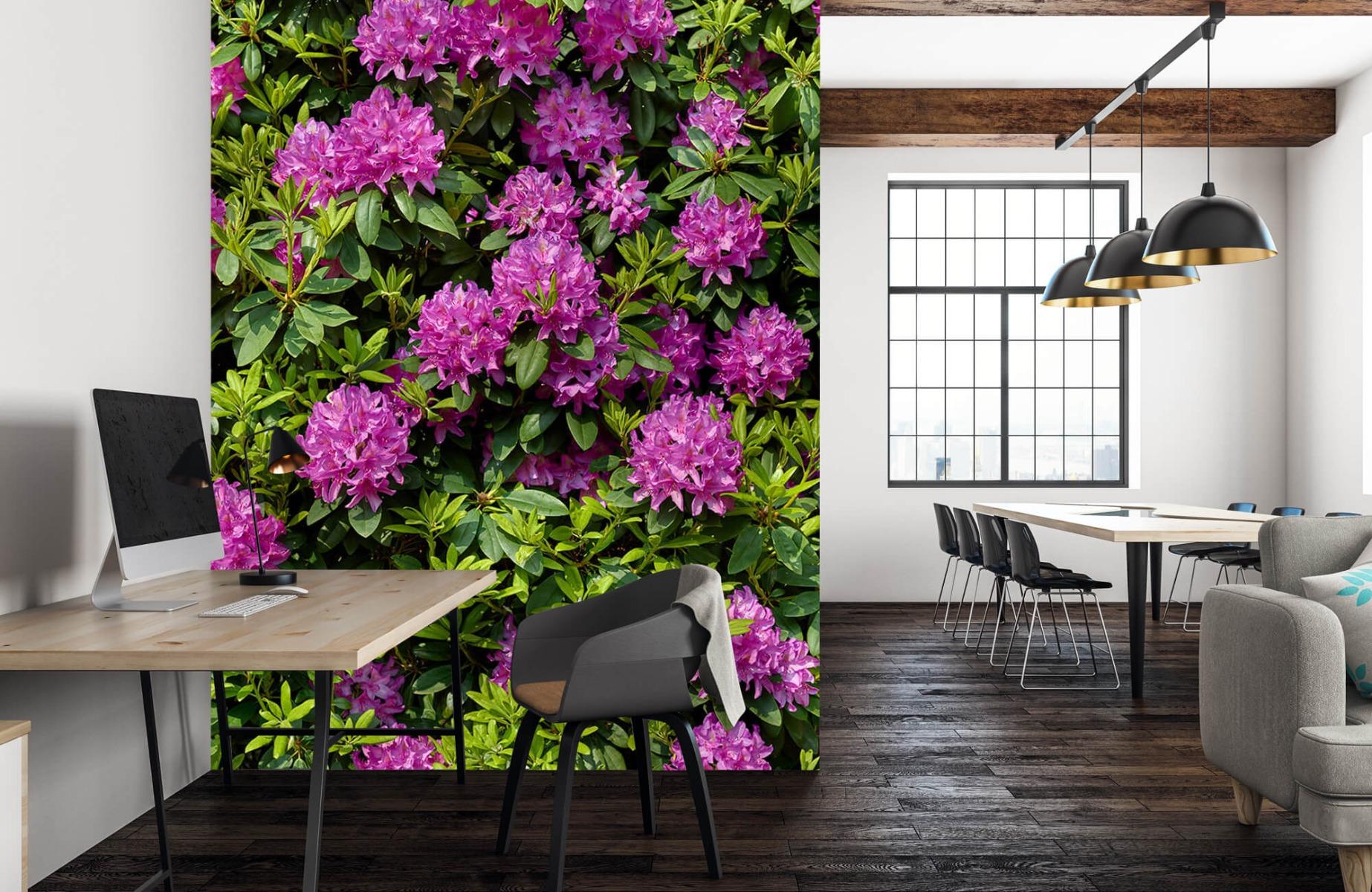 Bloemenvelden - Rododendrons - Wallexclusive - Slaapkamer 23