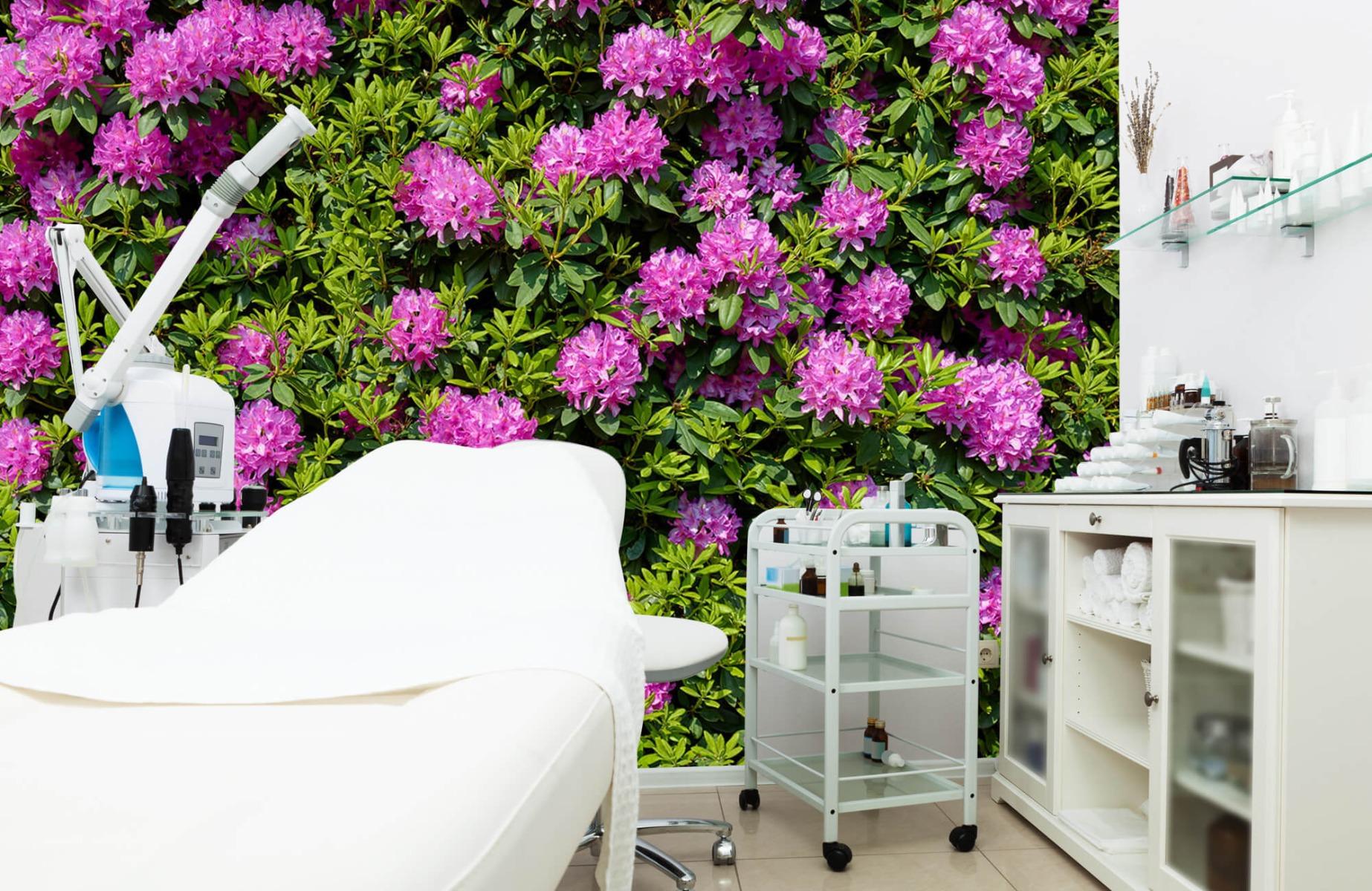 Bloemenvelden - Grote muur van rododendrons - Wallexclusive - Woonkamer 5