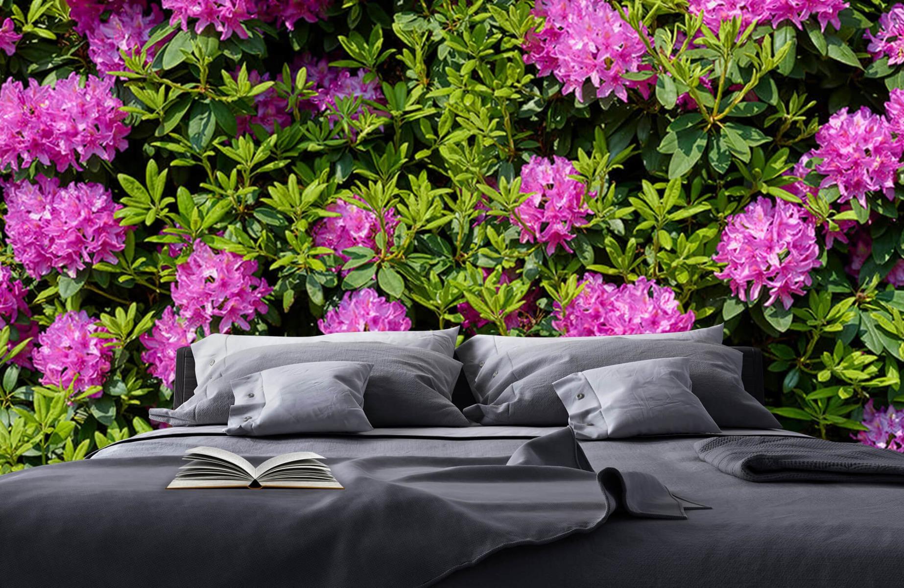 Bloemenvelden - Grote muur van rododendrons - Wallexclusive - Woonkamer 1