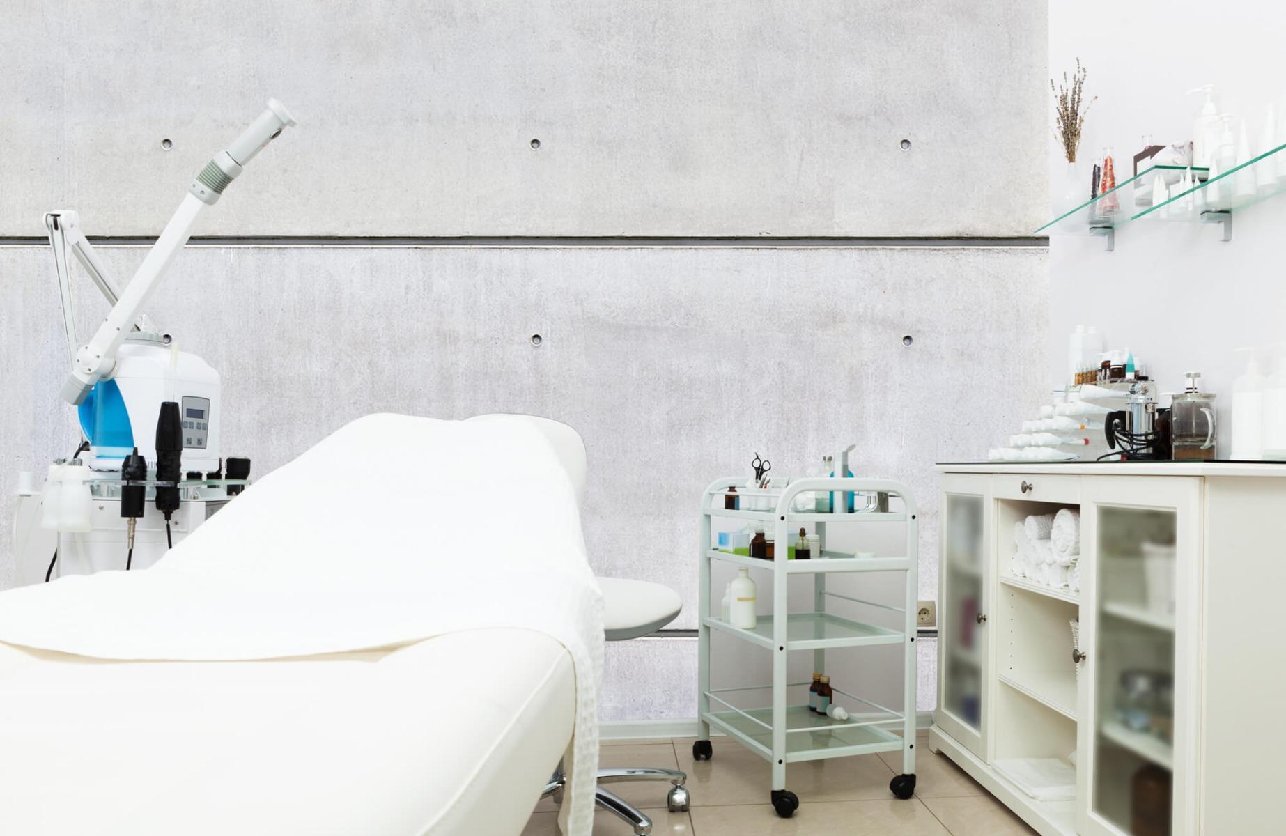 Betonlook behang - Horizontaal beton - Wallexclusive - Vergaderruimte 5