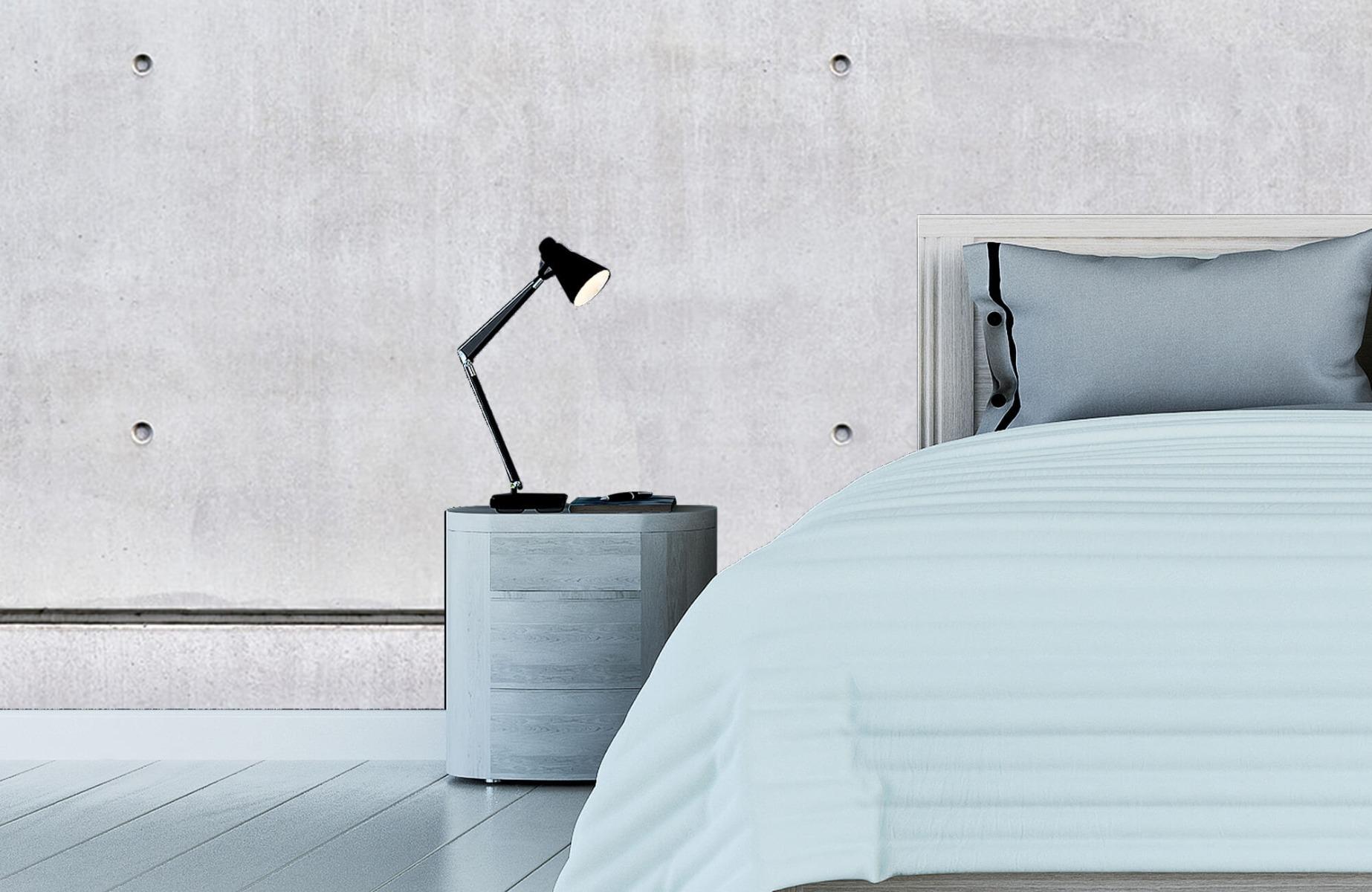 Betonlook behang - Horizontaal beton - Wallexclusive - Vergaderruimte 12