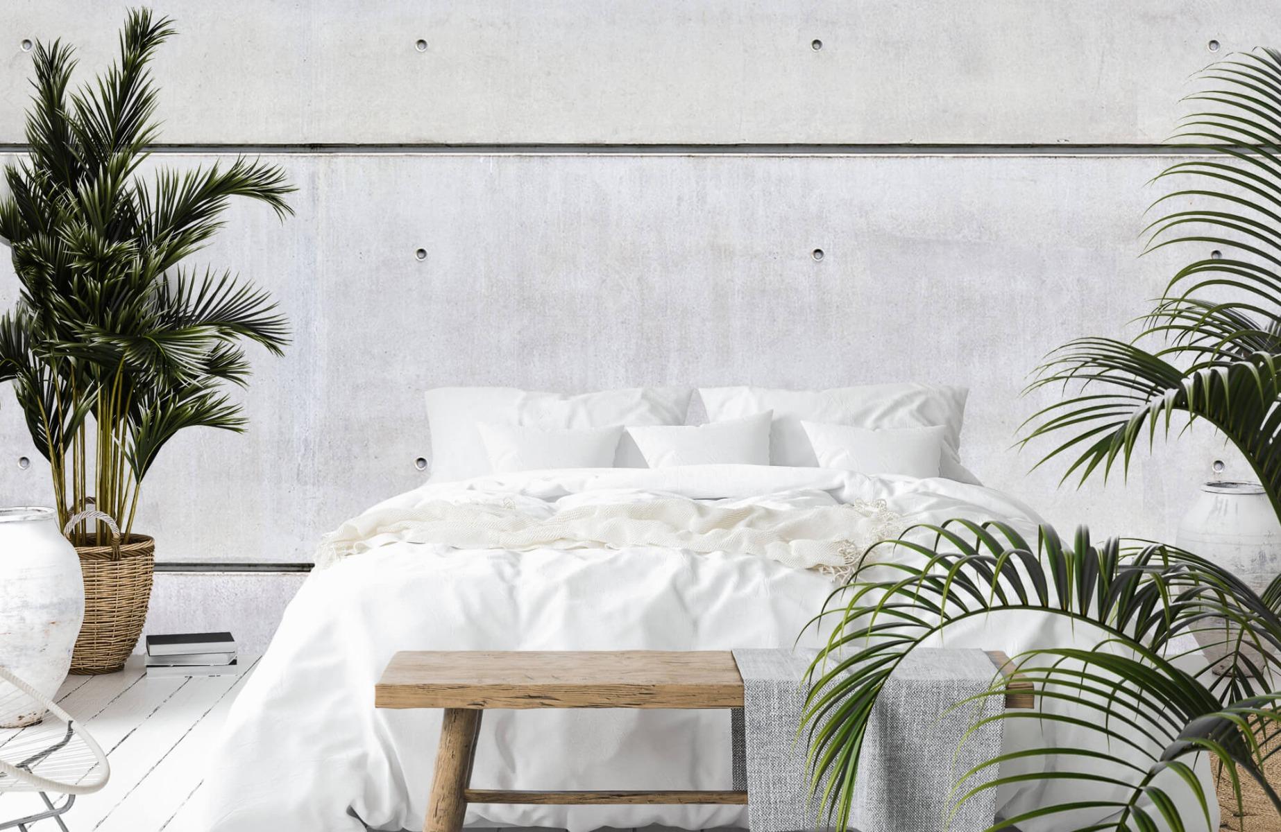 Betonlook behang - Horizontaal beton - Wallexclusive - Vergaderruimte 13