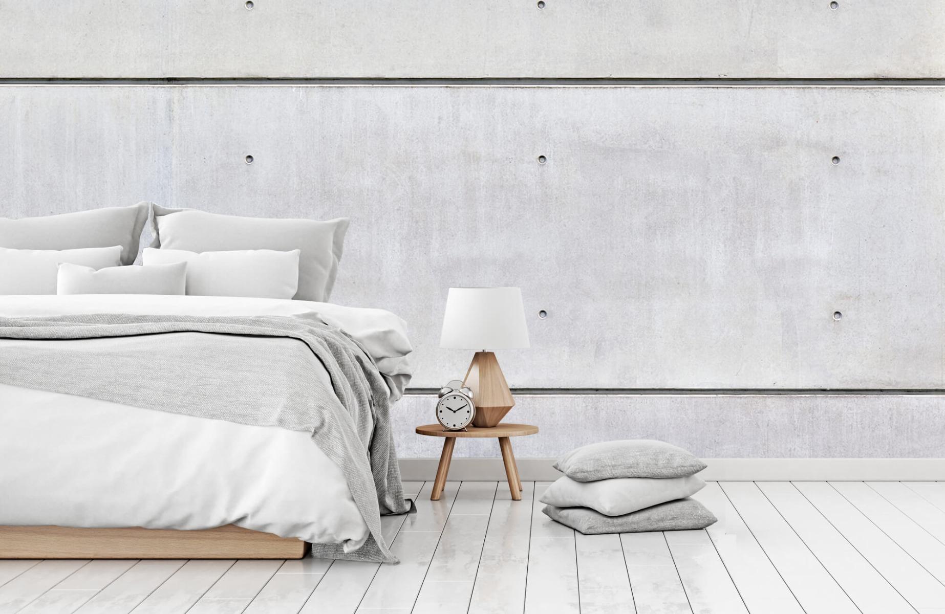 Betonlook behang - Horizontaal beton - Wallexclusive - Vergaderruimte 14