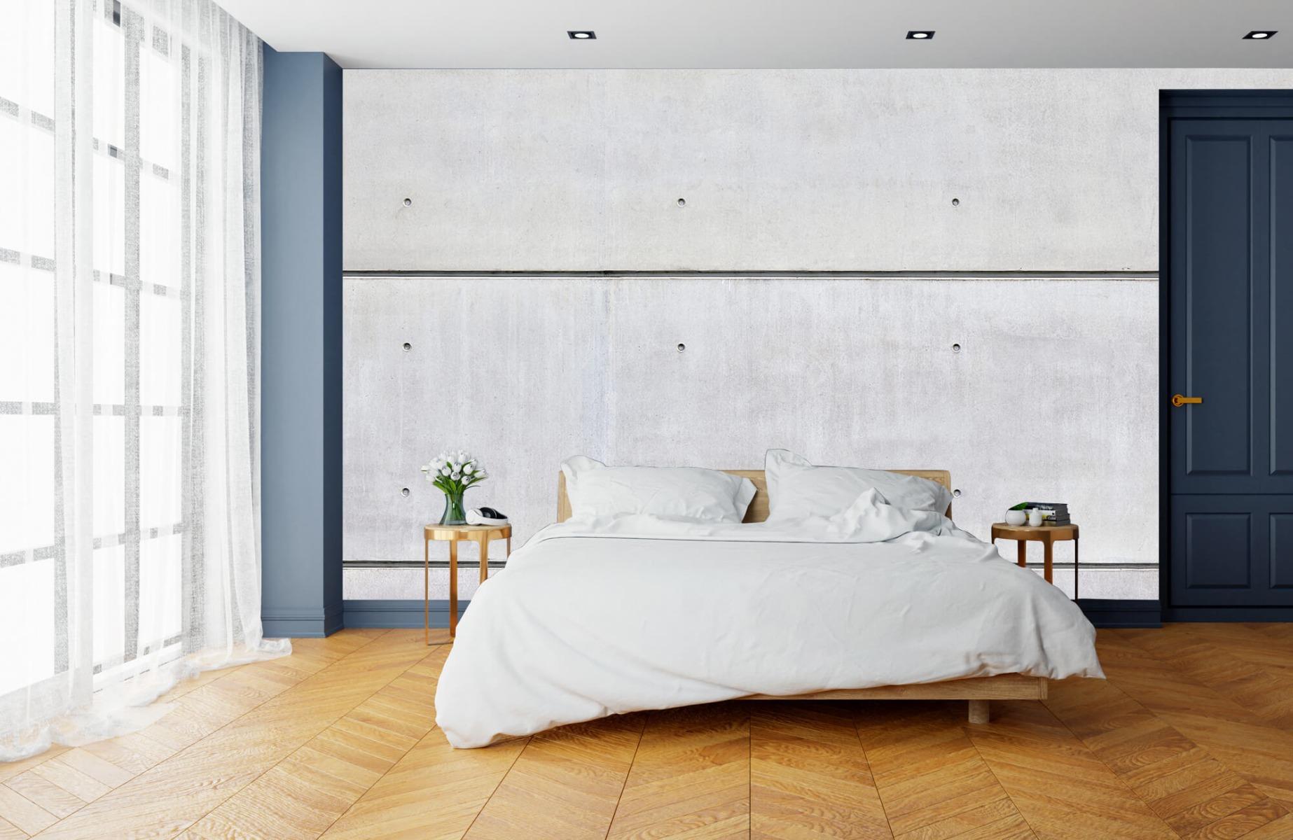 Betonlook behang - Horizontaal beton - Wallexclusive - Vergaderruimte 15