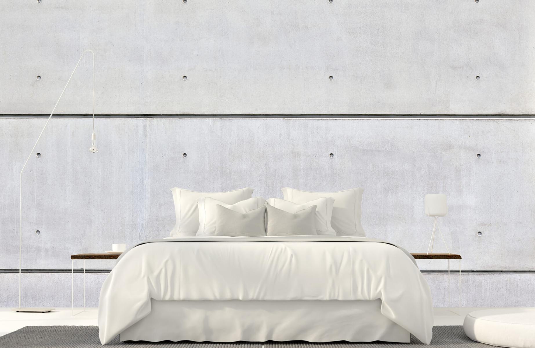 Betonlook behang - Horizontaal beton - Wallexclusive - Vergaderruimte 16