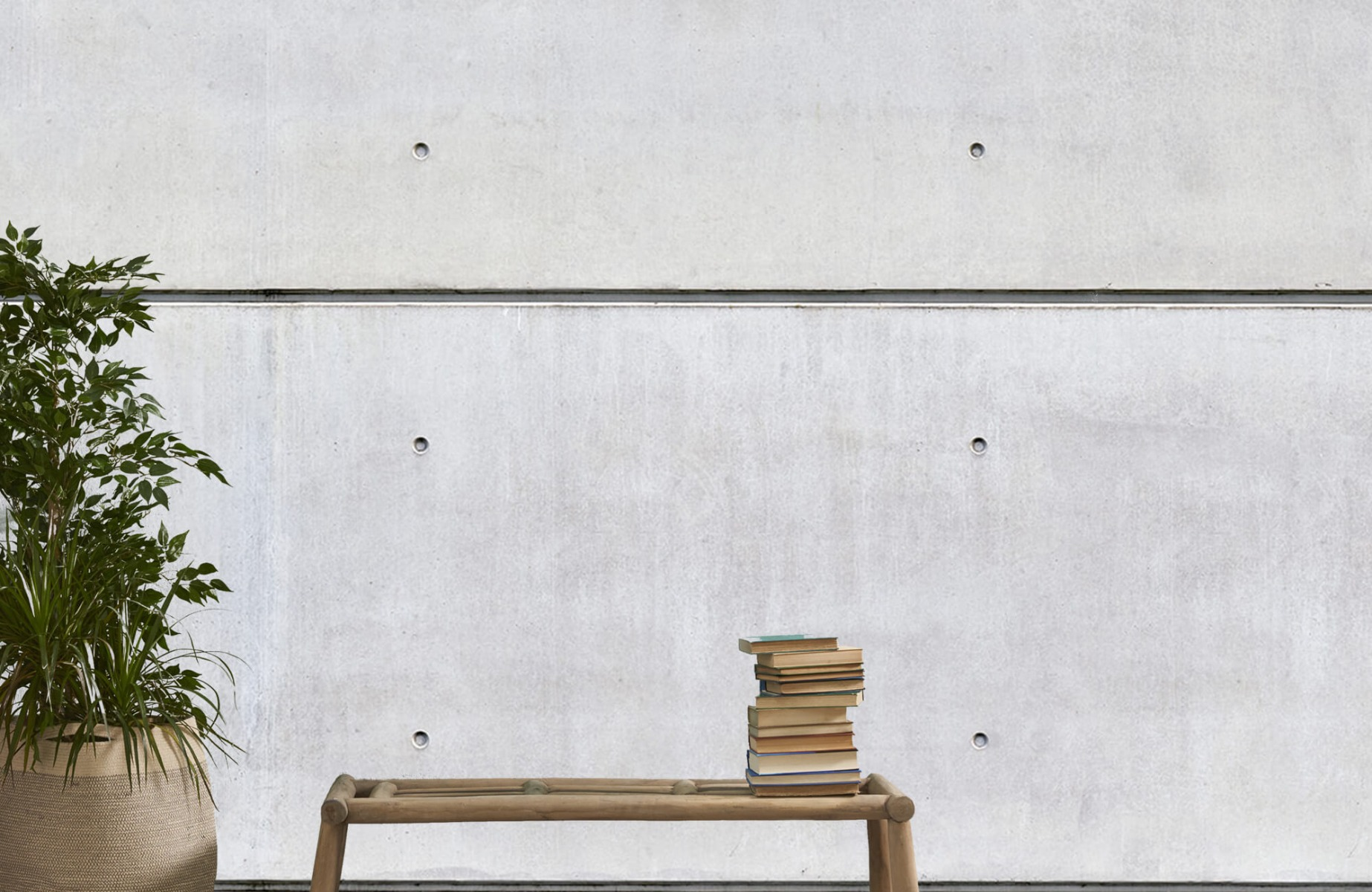 Betonlook behang - Horizontaal beton - Wallexclusive - Vergaderruimte 20