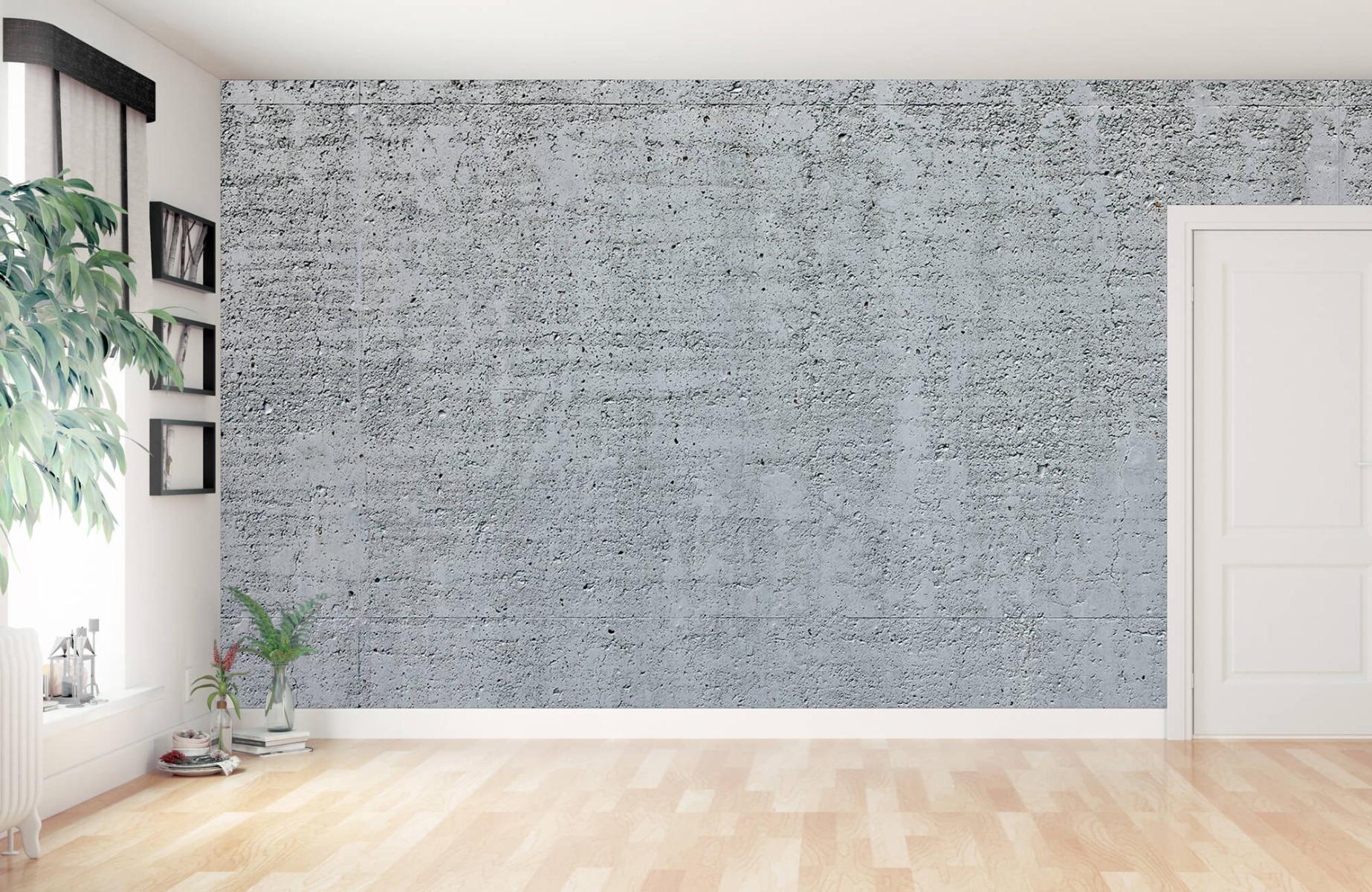 Betonlook behang - Beton - Wallexclusive - Kantoor 11