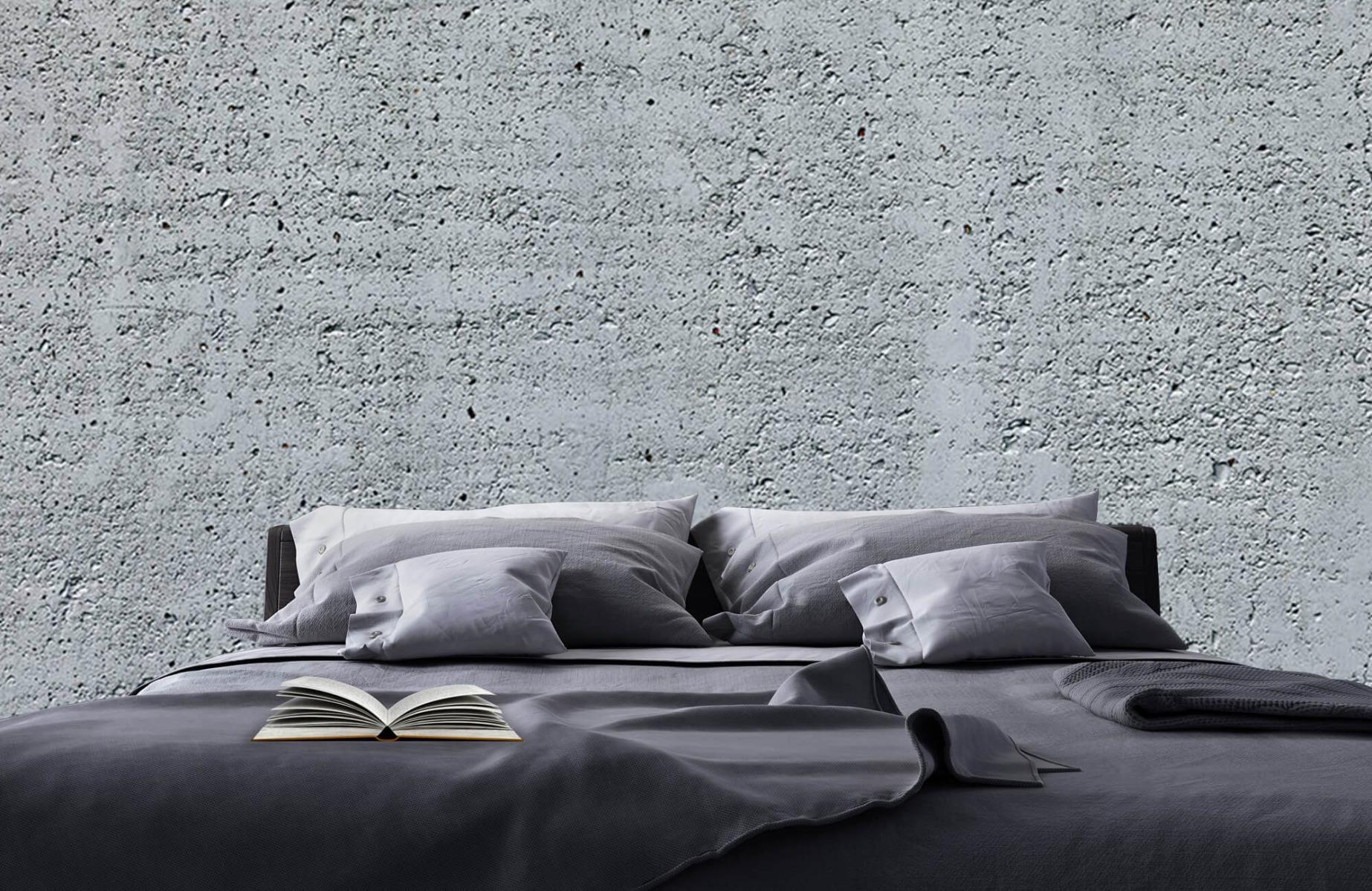 Betonlook behang - Beton - Wallexclusive - Kantoor 17
