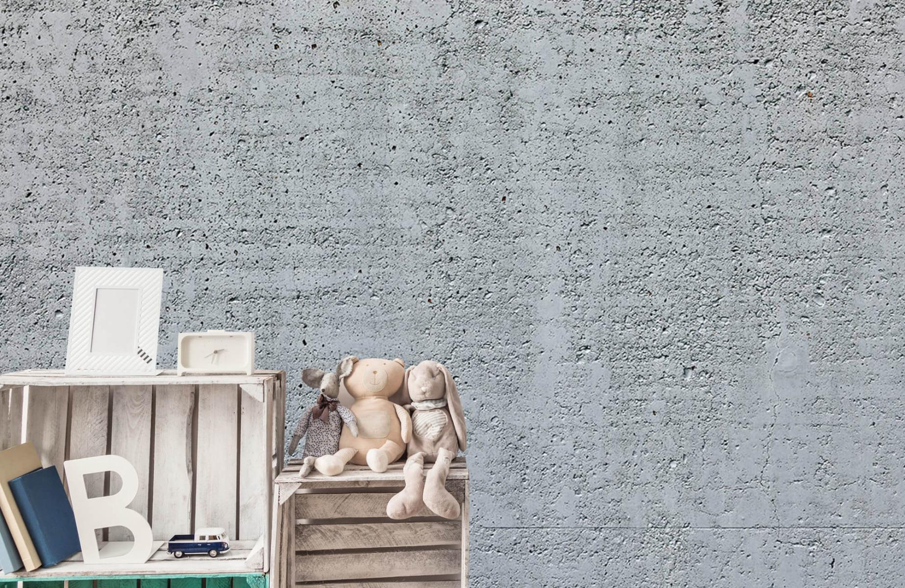Betonlook behang - Beton - Wallexclusive - Kantoor 19