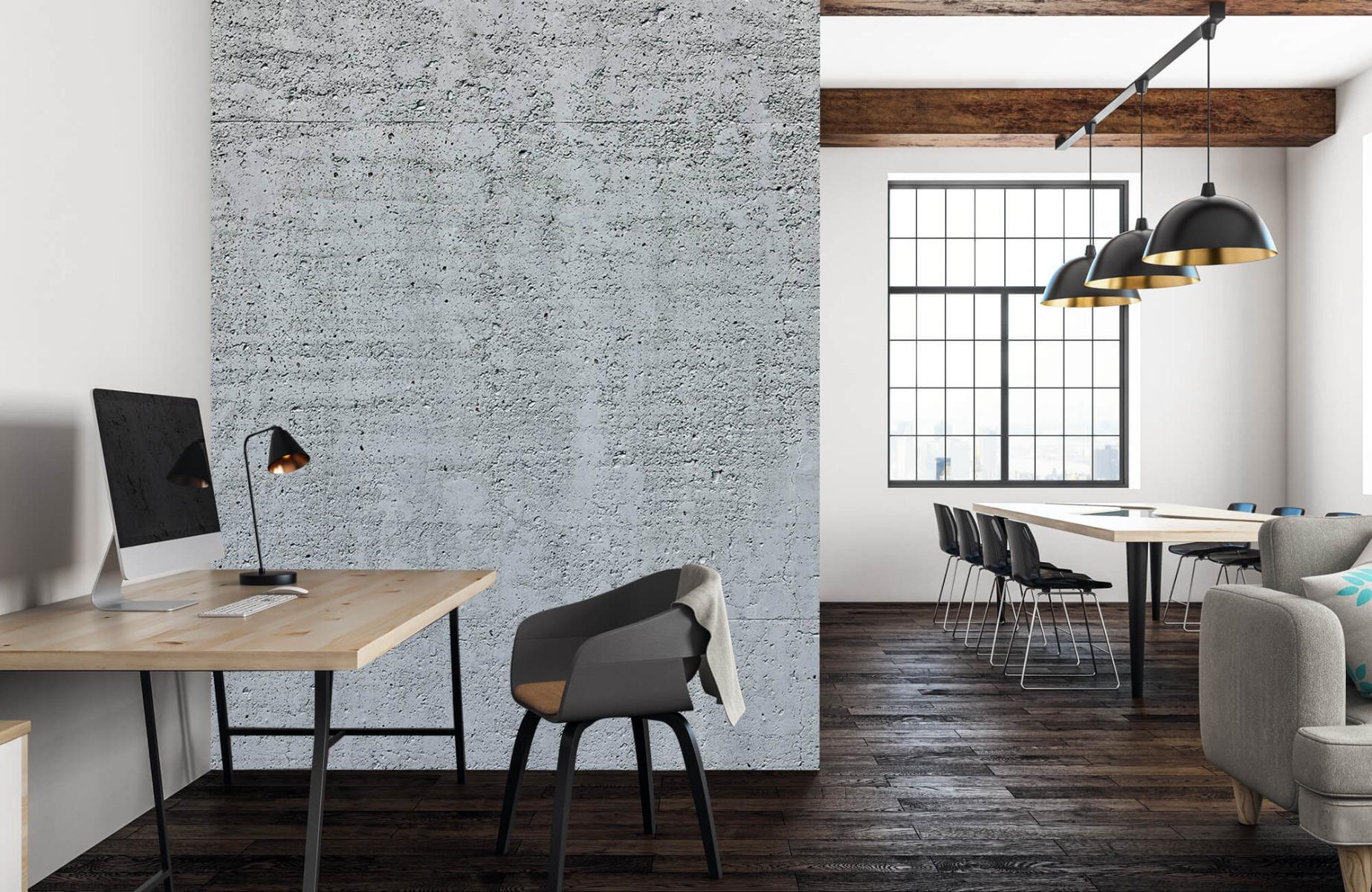 Betonlook behang - Beton - Wallexclusive - Kantoor 22