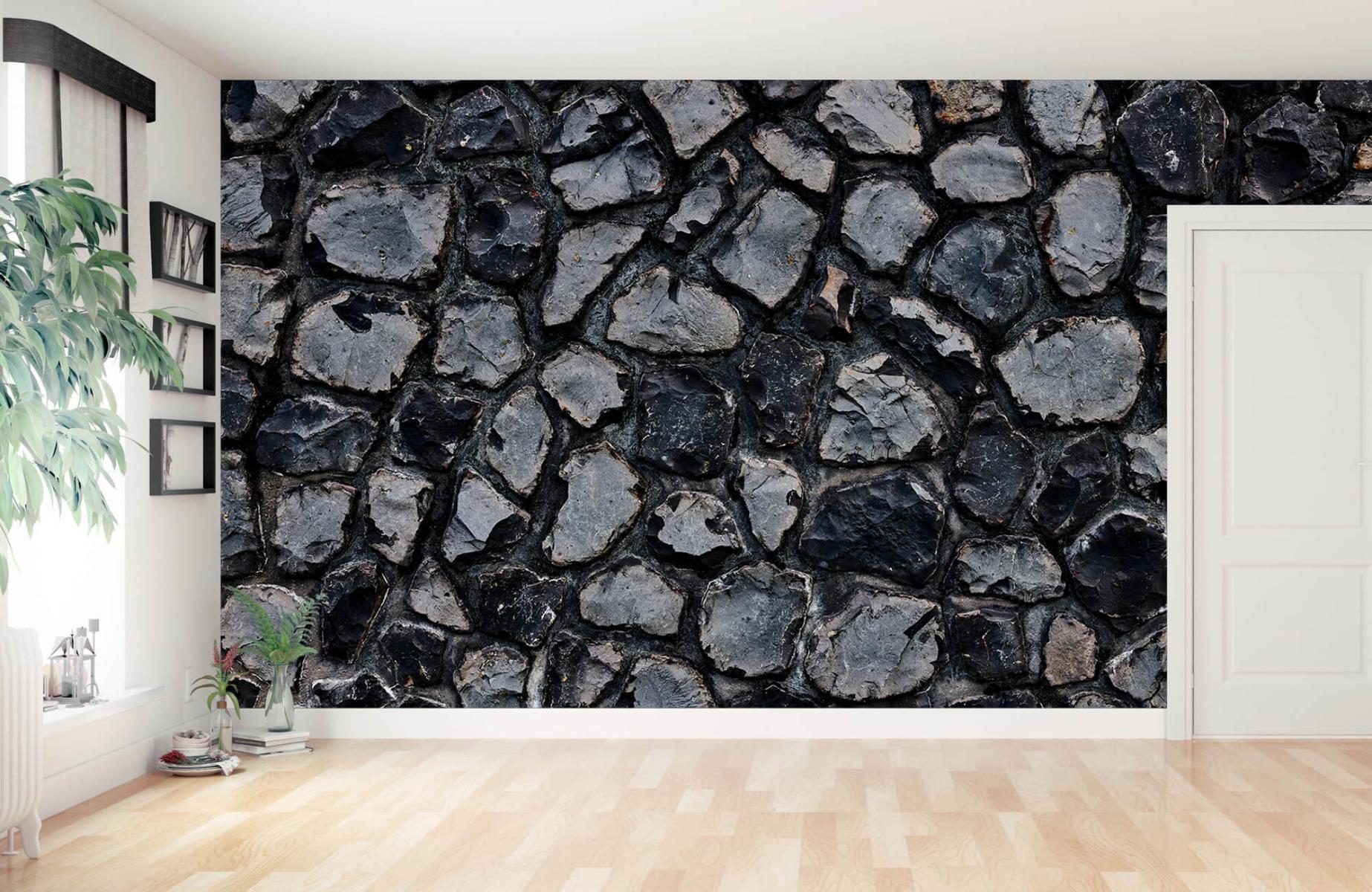 Steen behang - Donkere stenen - Wallexclusive - Gang 13