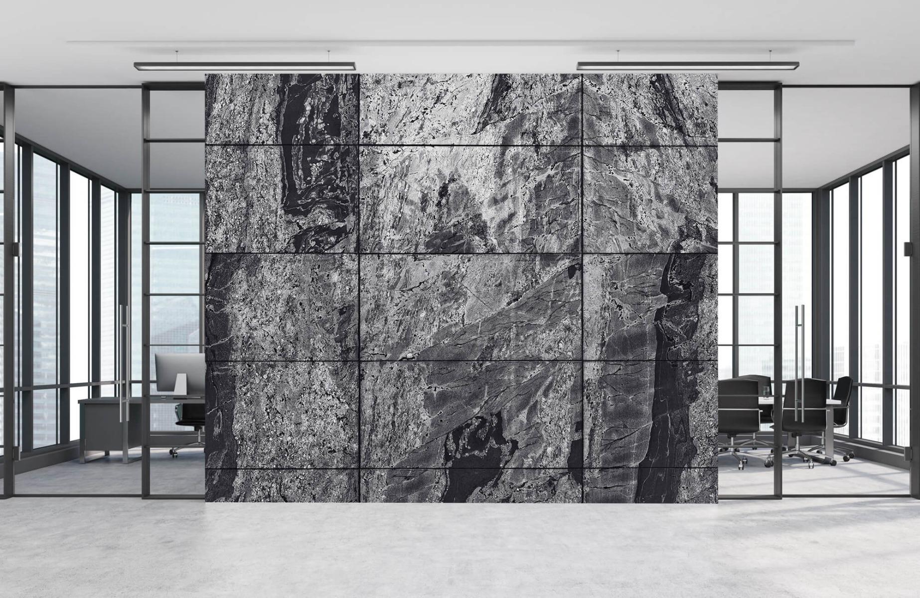 Steen behang - Marmer - Wallexclusive - Woonkamer 12