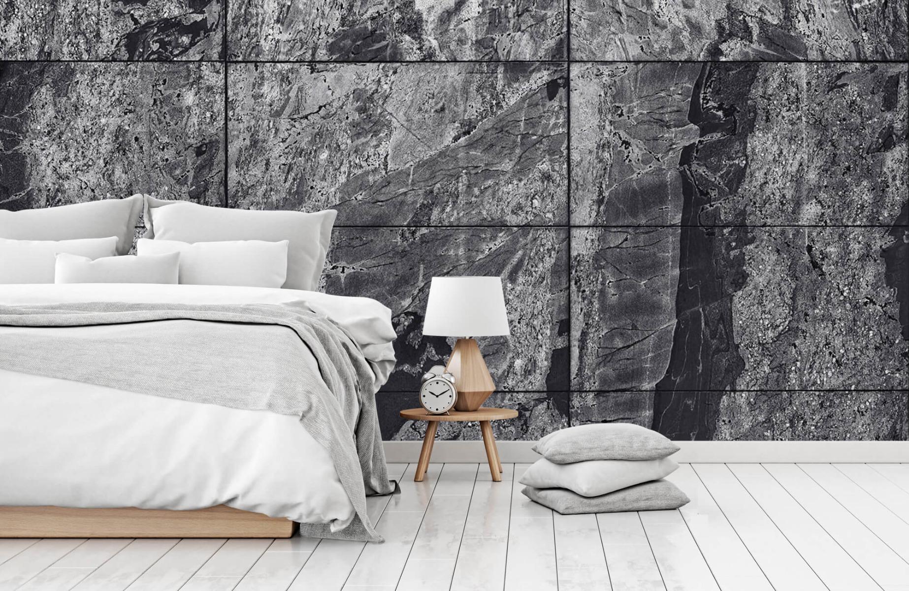 Steen behang - Marmer - Wallexclusive - Woonkamer 14
