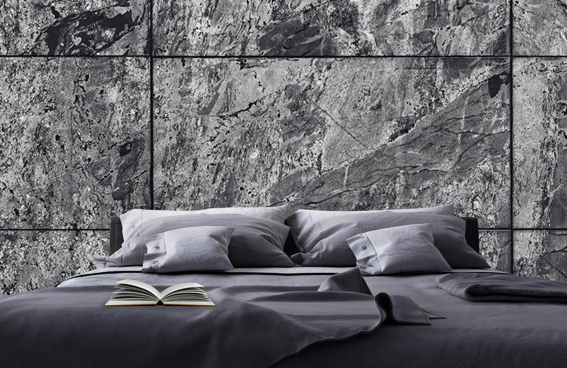 Steen behang - Marmer - Wallexclusive - Woonkamer 17