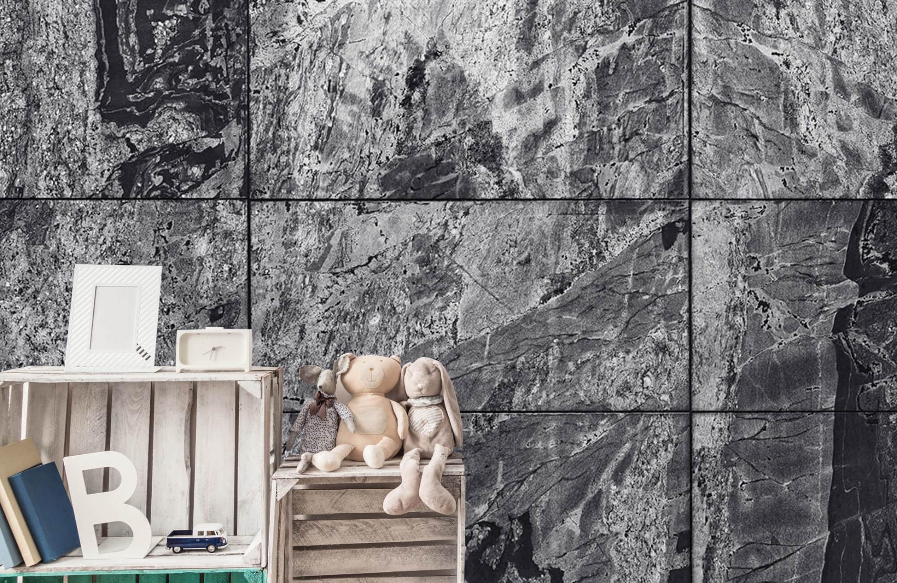 Steen behang - Marmer - Wallexclusive - Woonkamer 19