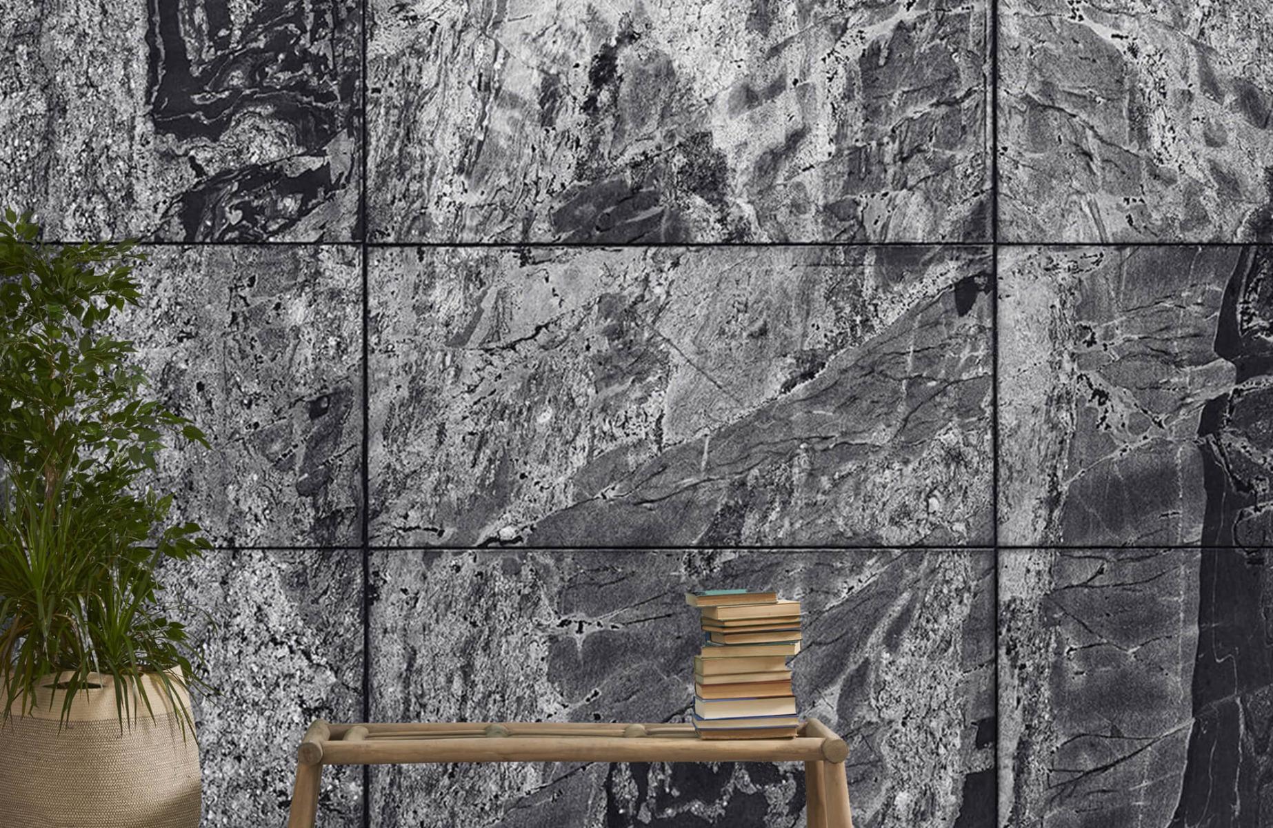 Steen behang - Marmer - Wallexclusive - Woonkamer 20