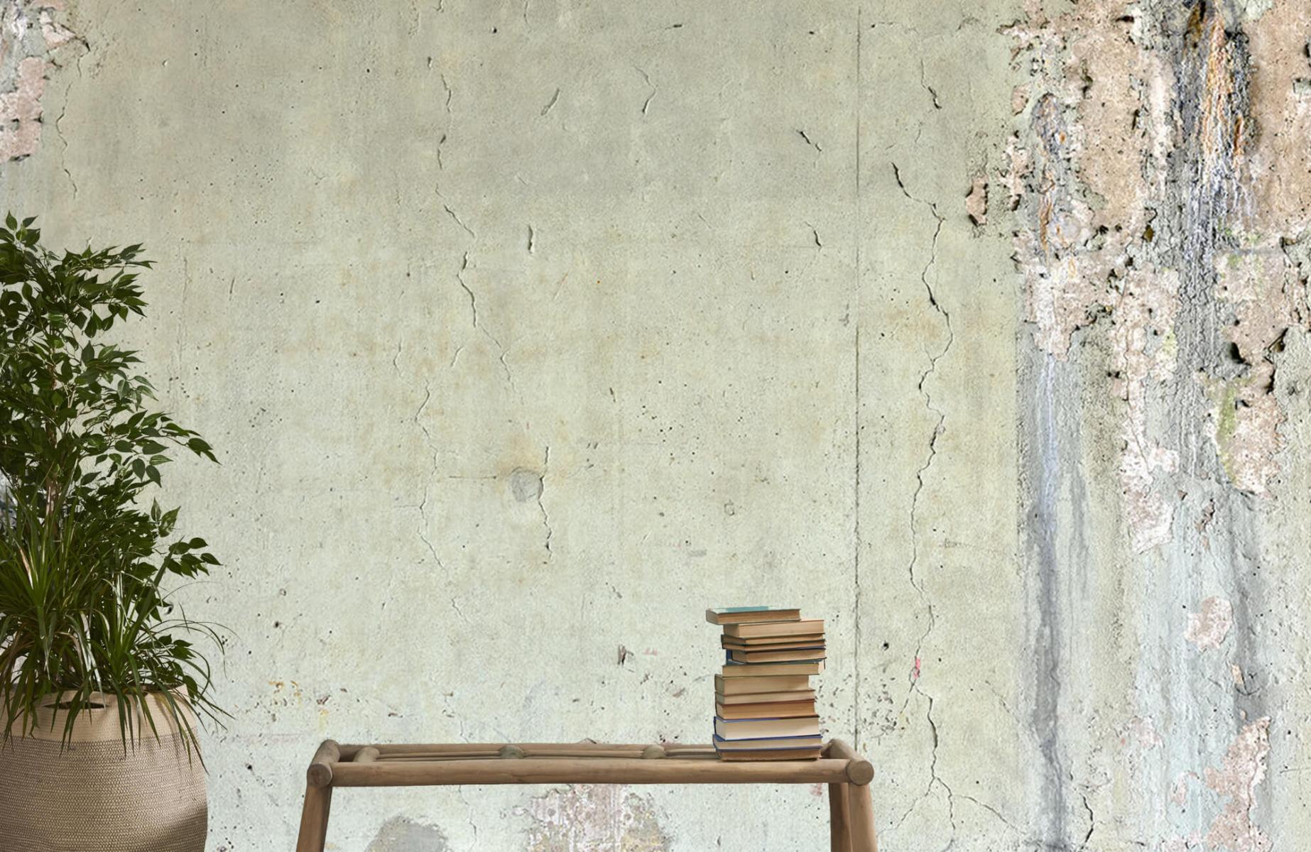 Betonlook behang - Oud beton - Wallexclusive - Tienerkamer 20