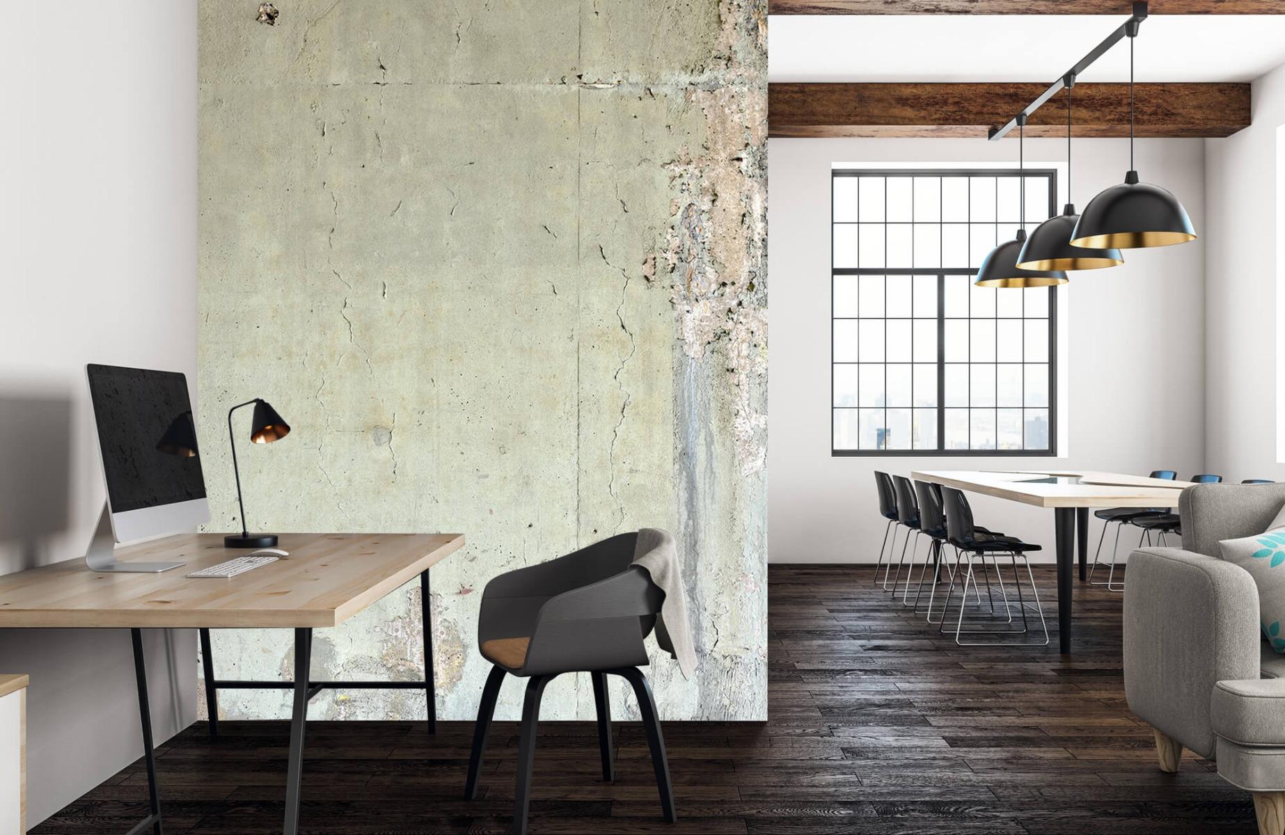 Betonlook behang - Oud beton - Wallexclusive - Tienerkamer 22