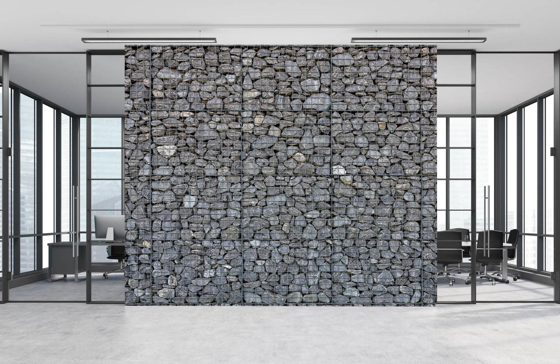 Steen behang - Steenkorf - Wallexclusive - Slaapkamer 8