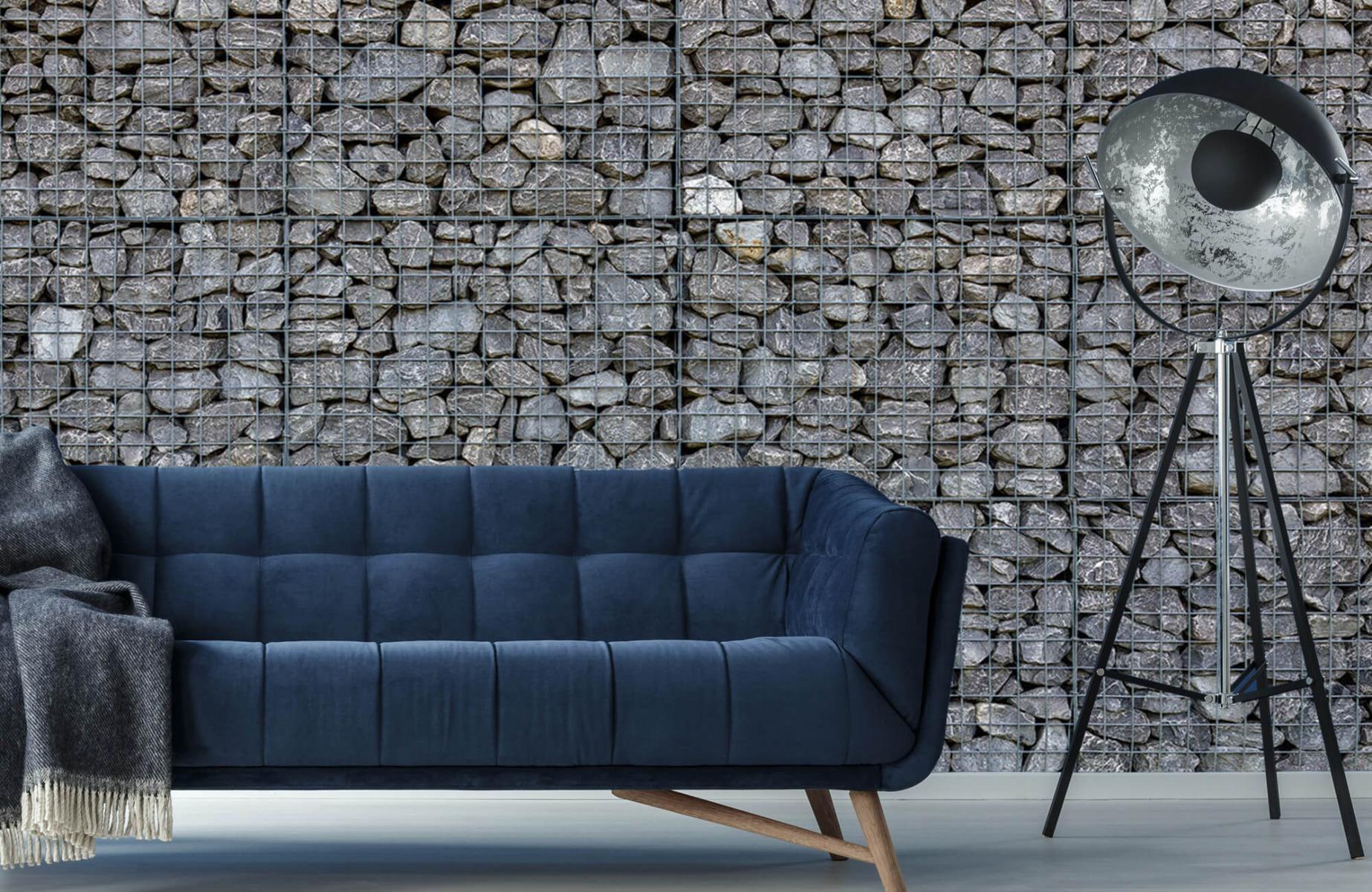Steen behang - Steenkorf - Wallexclusive - Slaapkamer 10