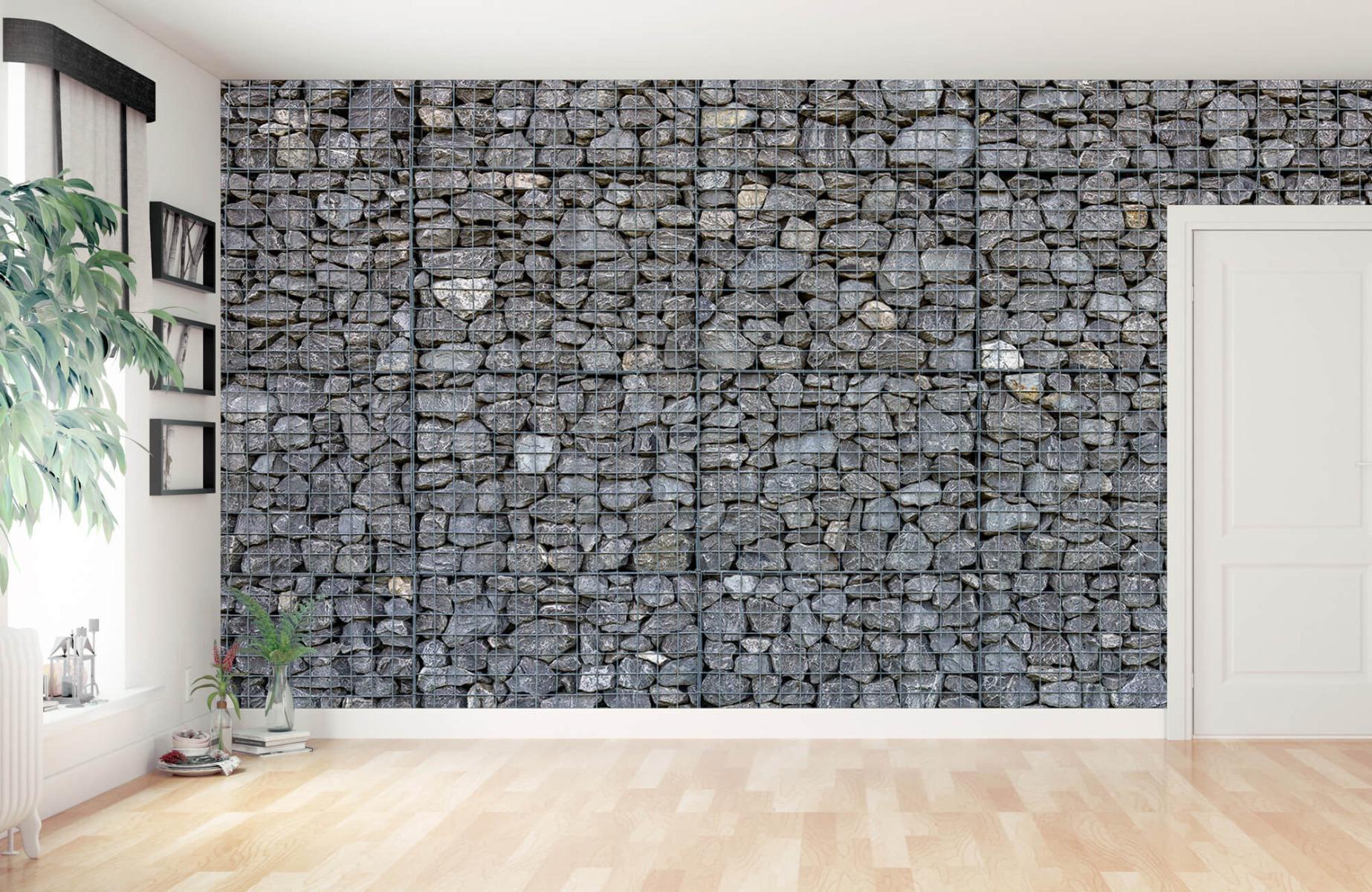 Steen behang - Steenkorf - Wallexclusive - Slaapkamer 11