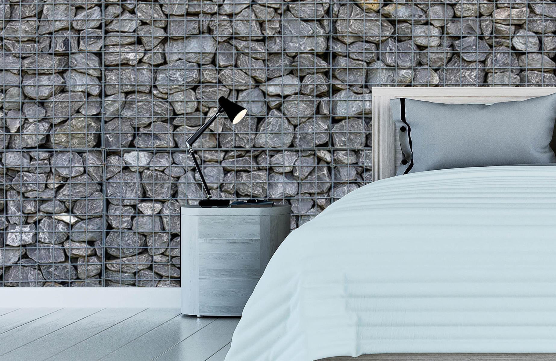 Steen behang - Steenkorf - Wallexclusive - Slaapkamer 12