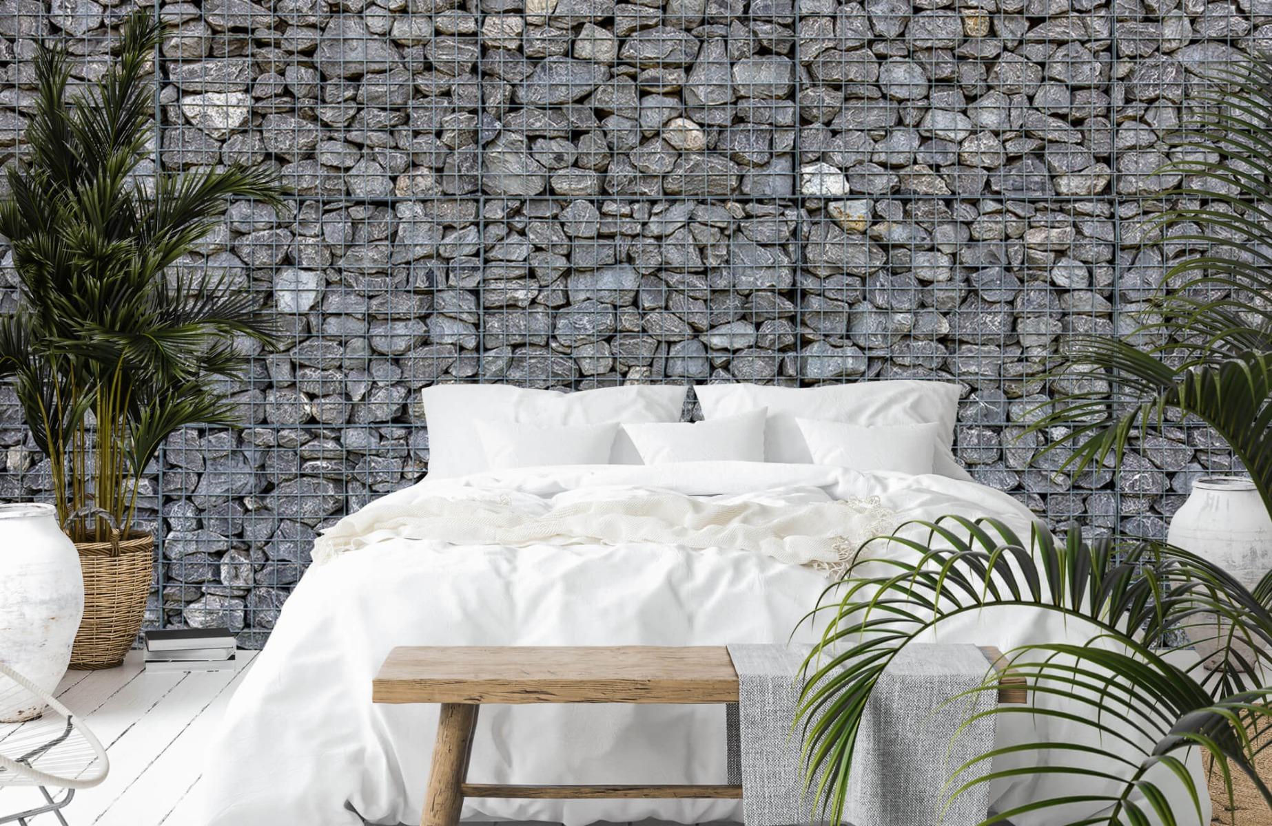 Steen behang - Steenkorf - Wallexclusive - Slaapkamer 13