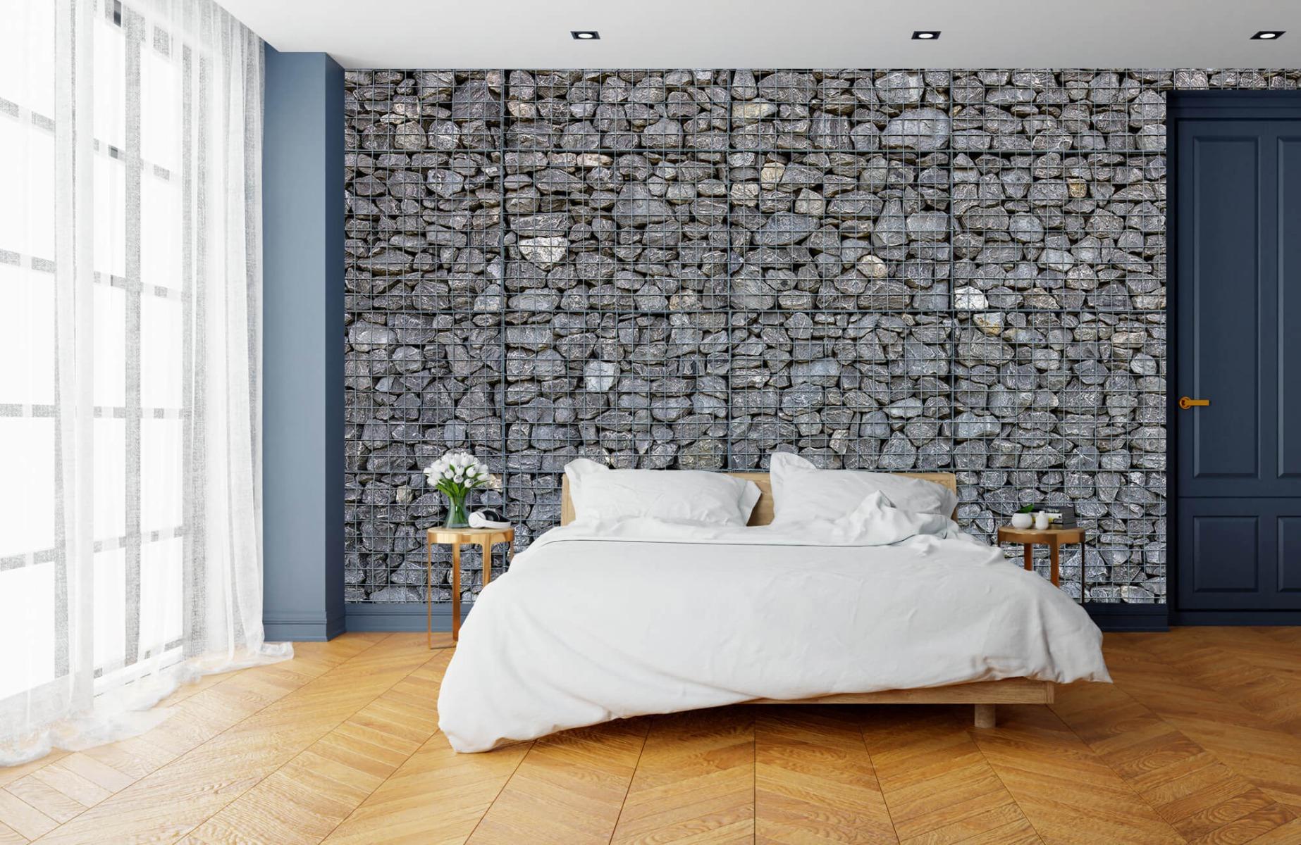 Steen behang - Steenkorf - Wallexclusive - Slaapkamer 15