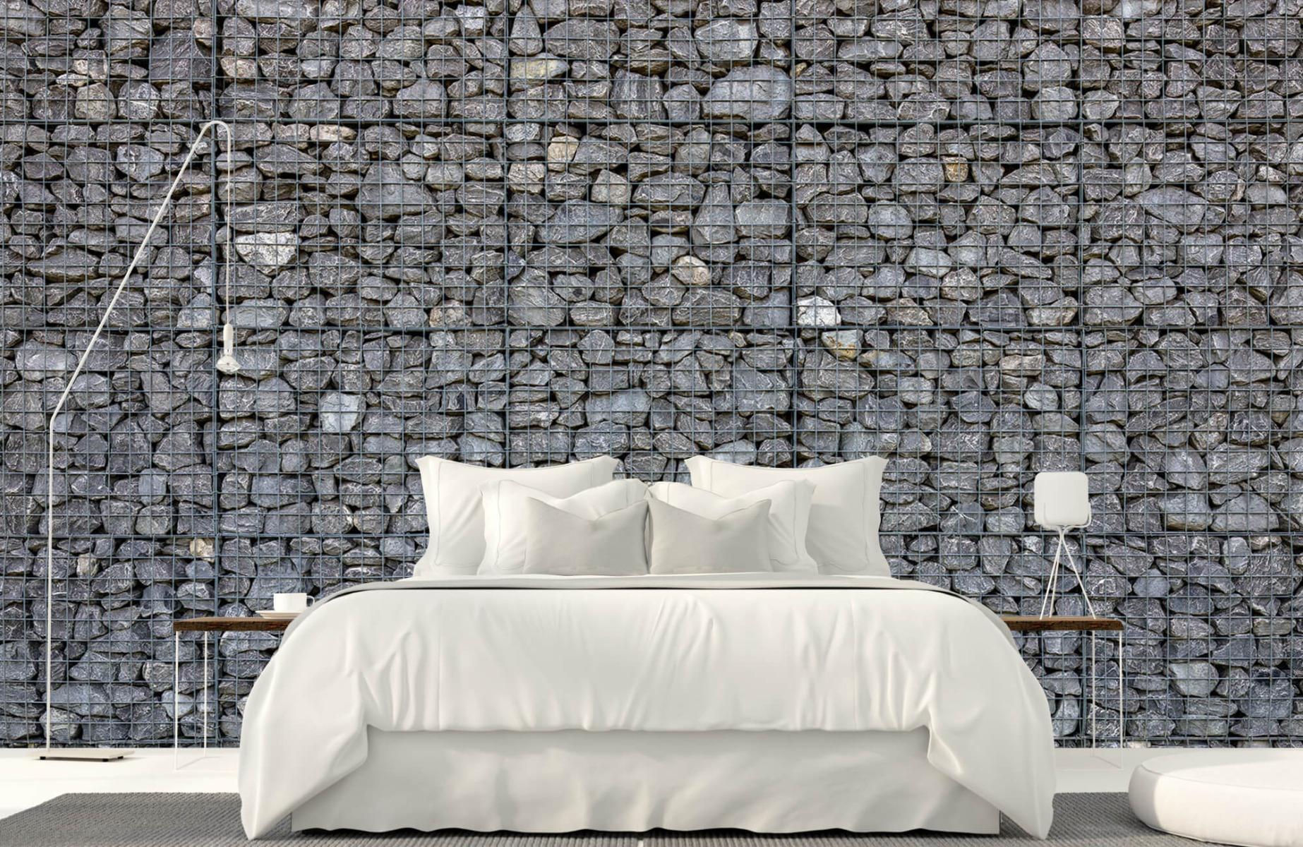 Steen behang - Steenkorf - Wallexclusive - Slaapkamer 16
