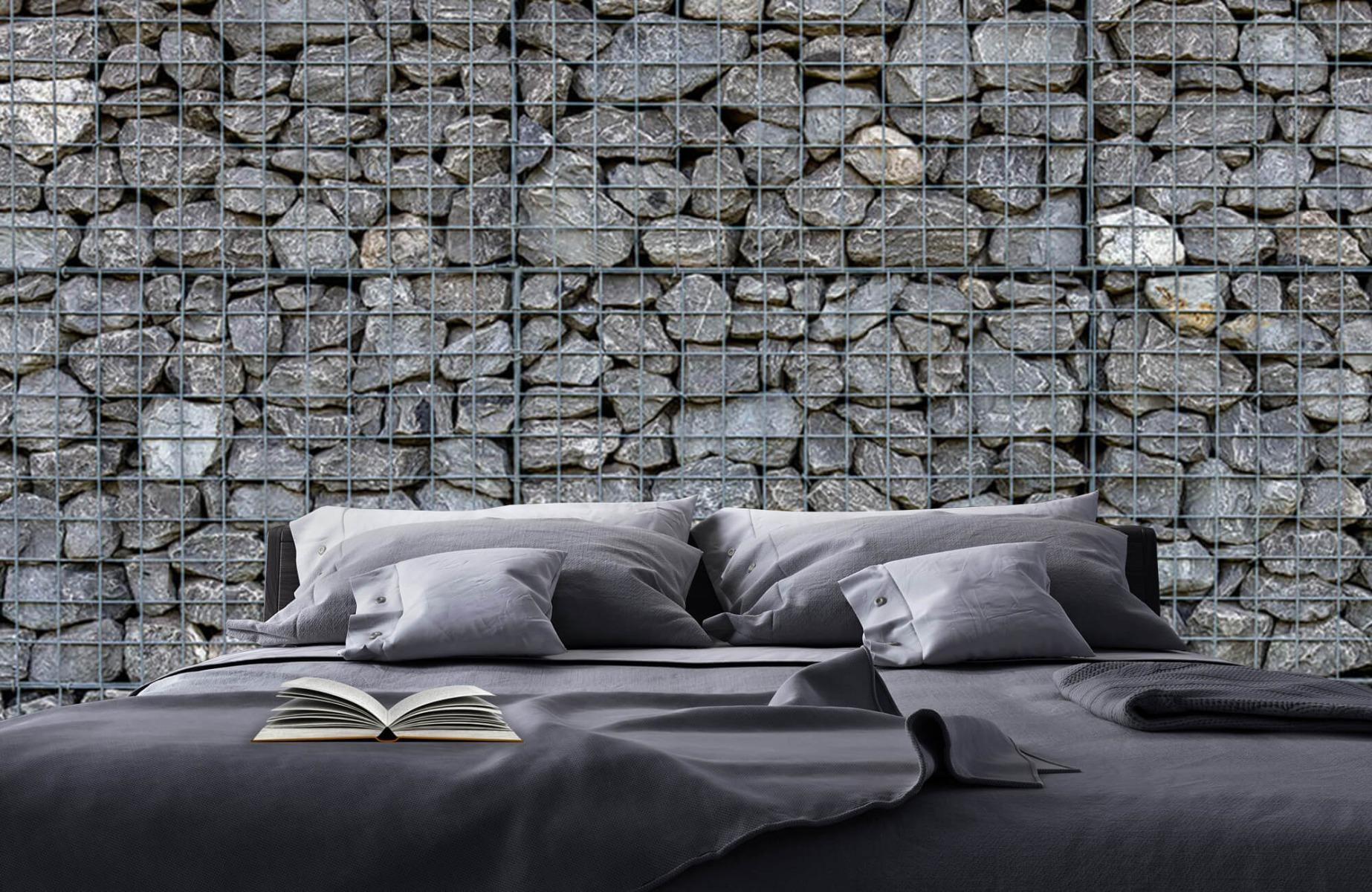Steen behang - Steenkorf - Wallexclusive - Slaapkamer 17